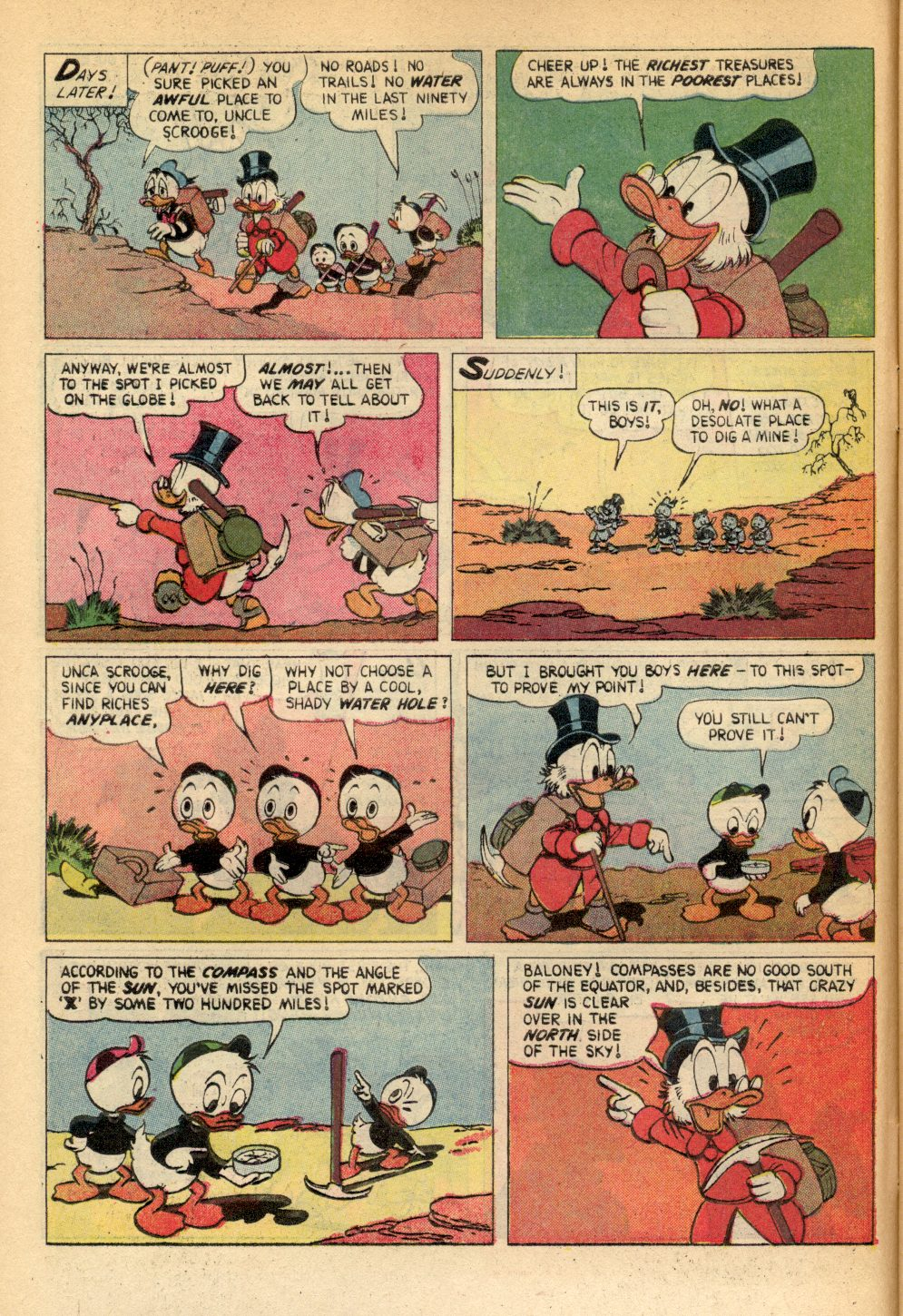 Read online Uncle Scrooge (1953) comic -  Issue #91 - 6