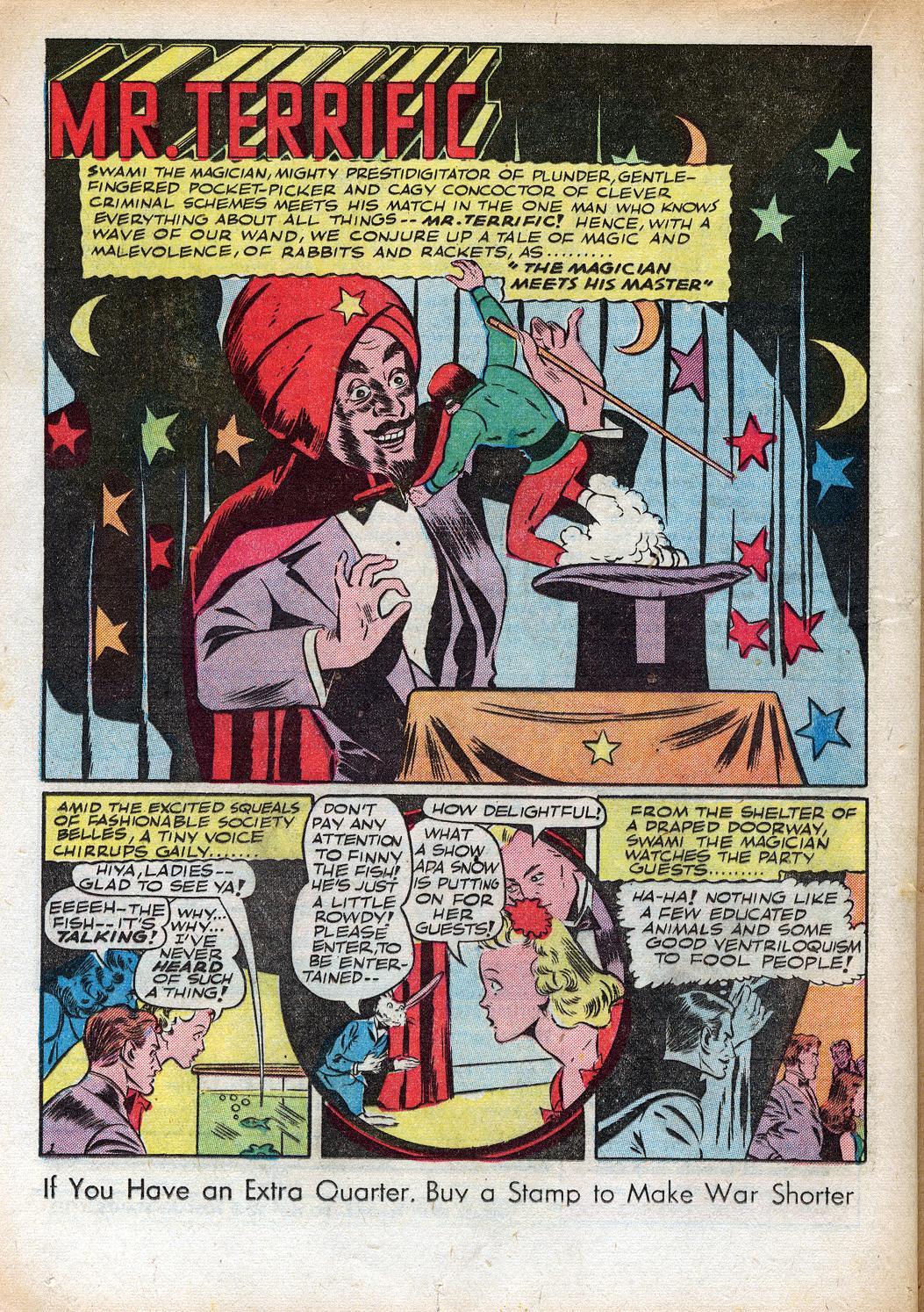 Read online Sensation (Mystery) Comics comic -  Issue #33 - 34