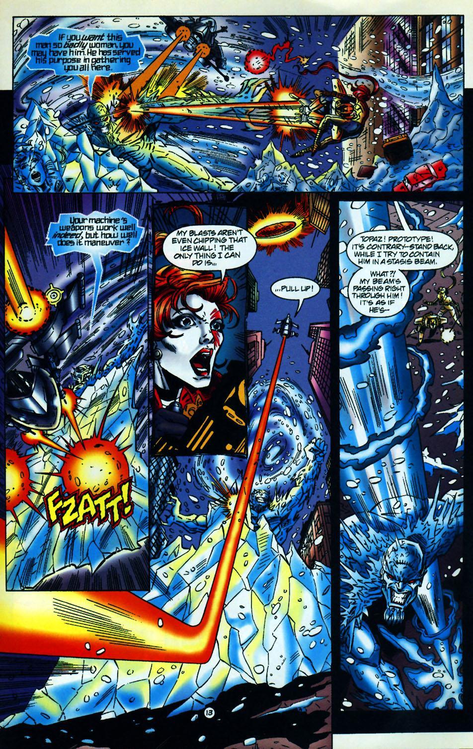 Read online UltraForce (1994) comic -  Issue #10 - 14