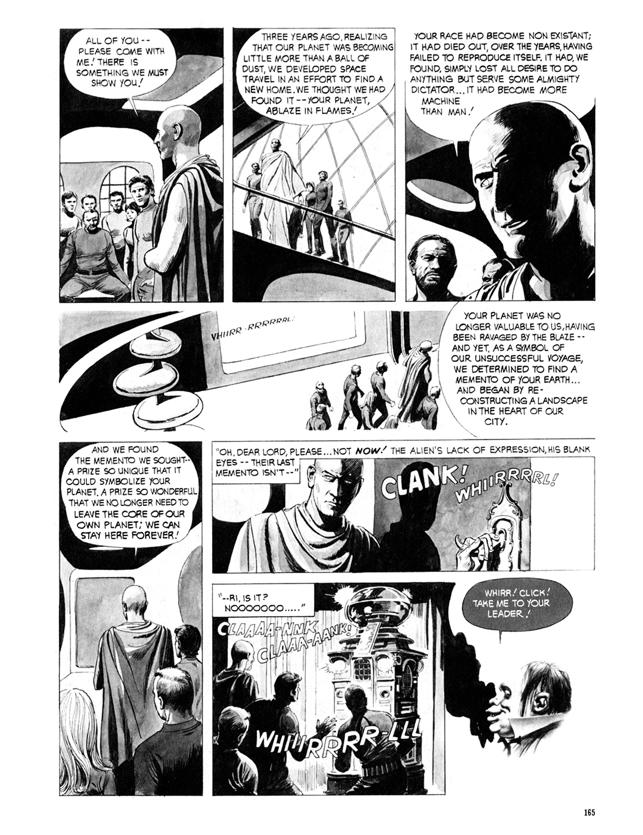 Read online Eerie Archives comic -  Issue # TPB 9 - 166
