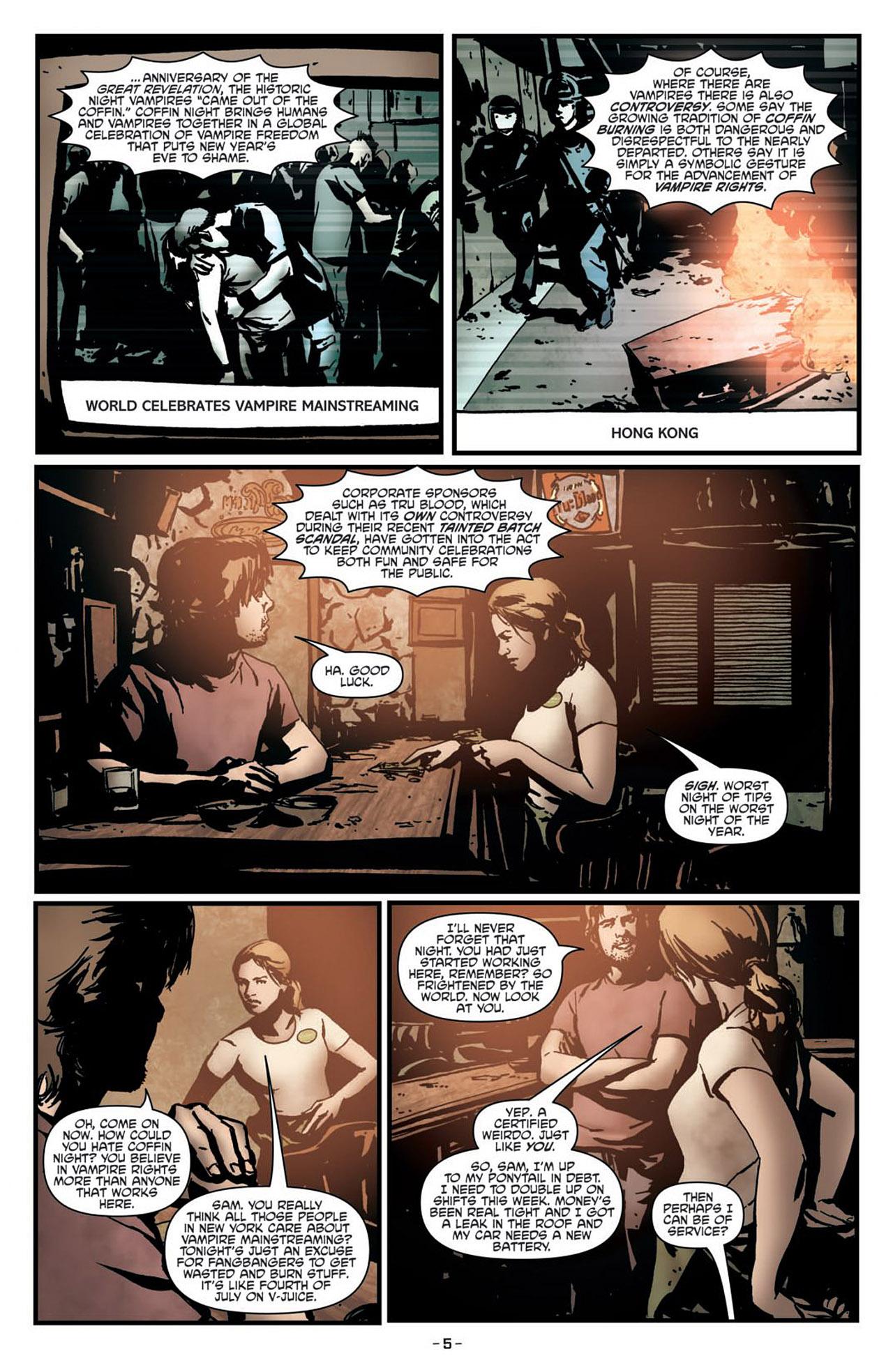 Read online True Blood (2012) comic -  Issue #1 - 9
