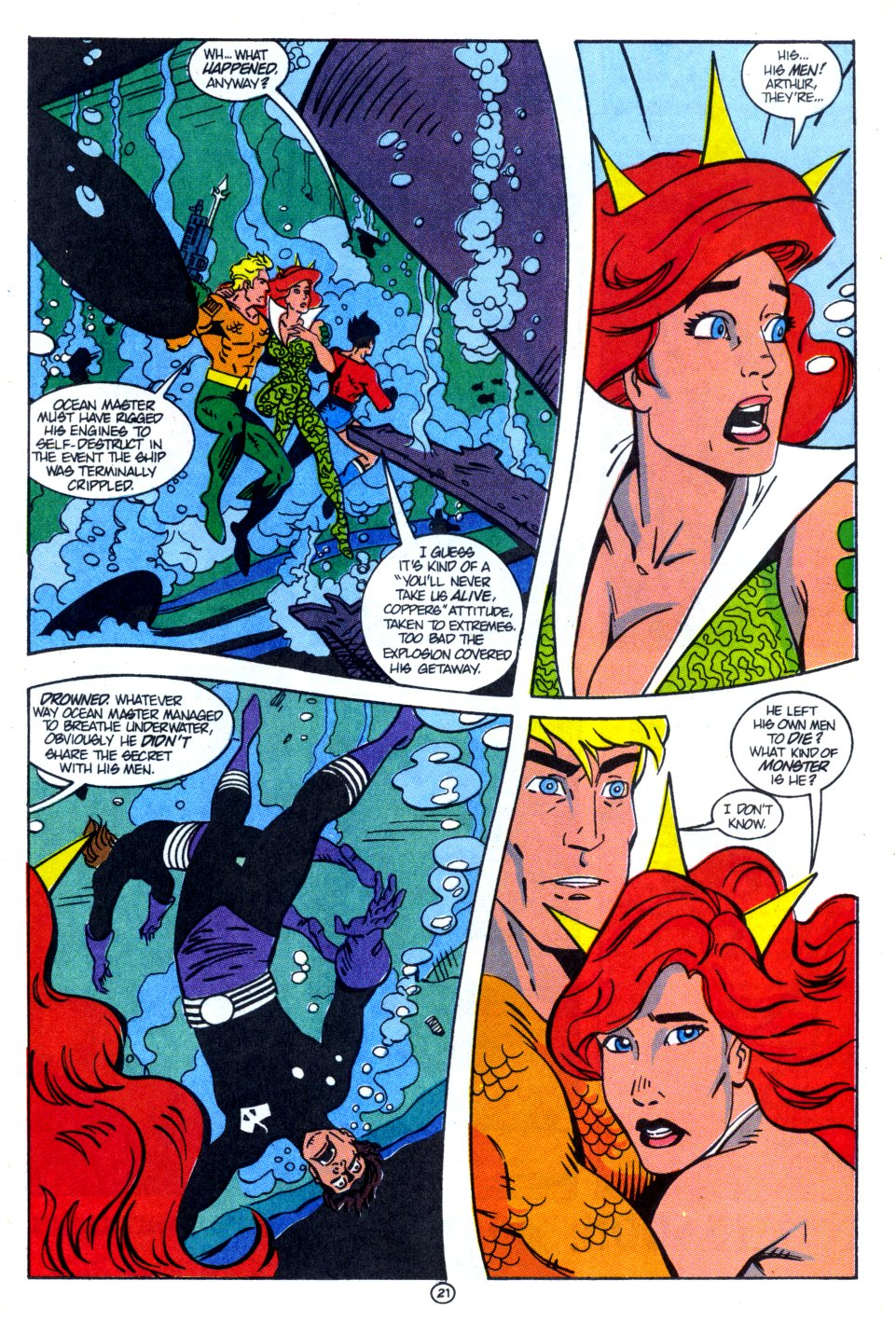 Read online Aquaman: Time and Tide comic -  Issue #4 - 22