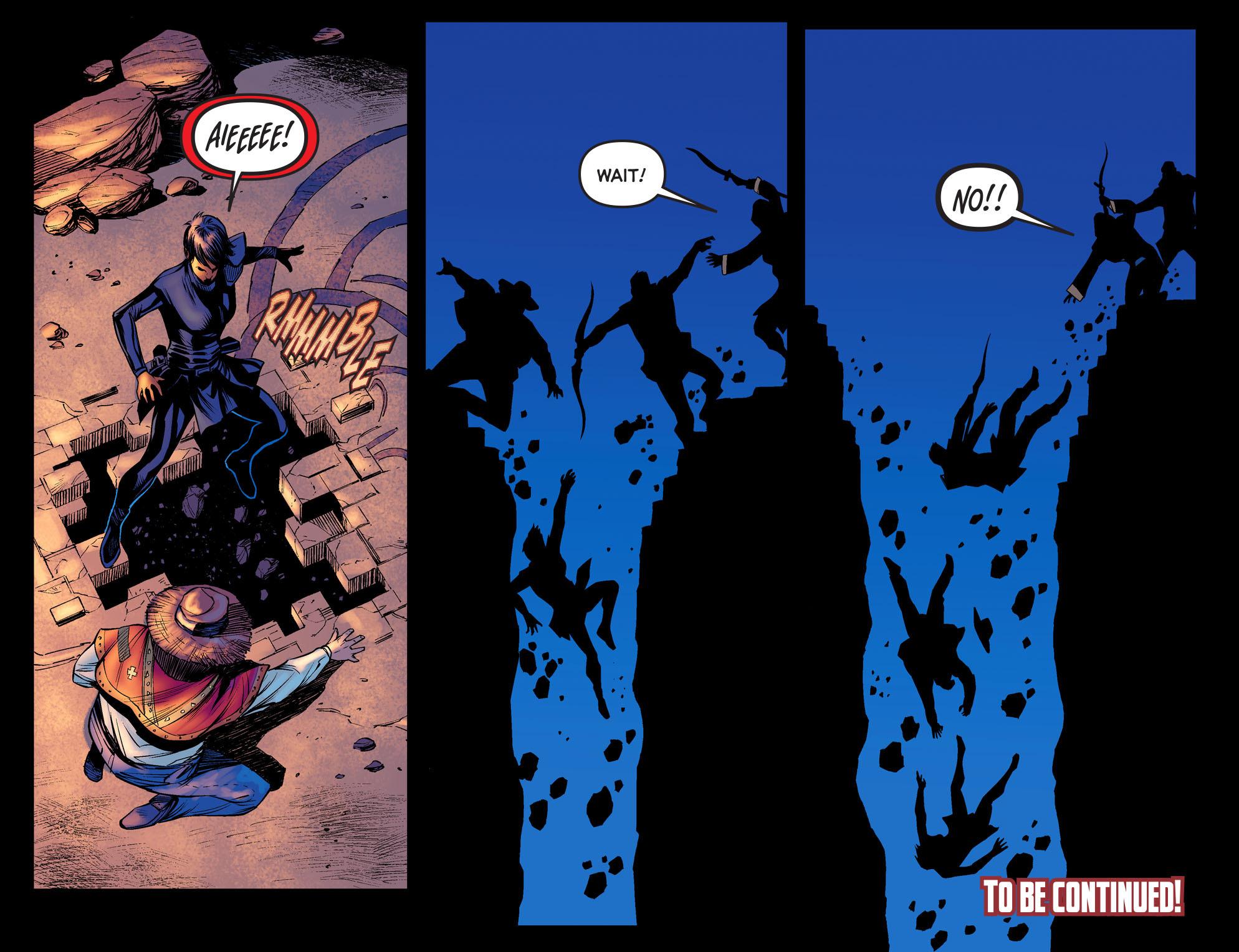 Read online Arrow: The Dark Archer comic -  Issue #3 - 22