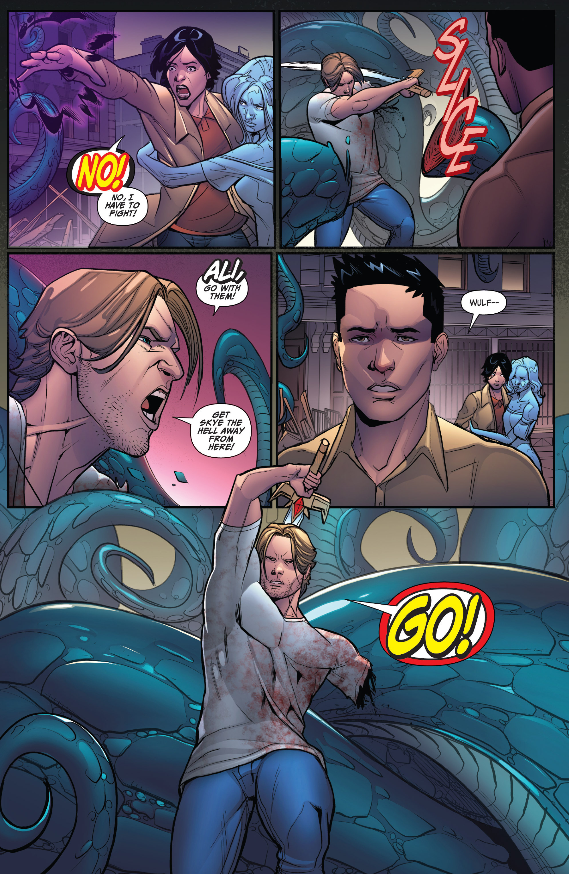 Read online Grimm Fairy Tales: Arcane Acre comic -  Issue # TPB 4 - 130
