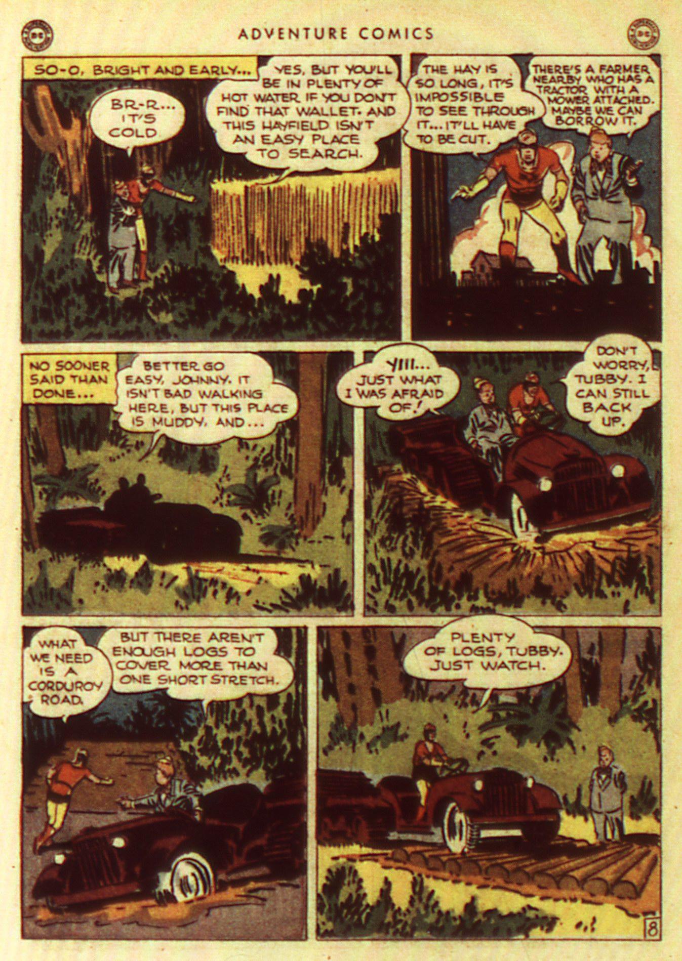 Read online Adventure Comics (1938) comic -  Issue #105 - 28