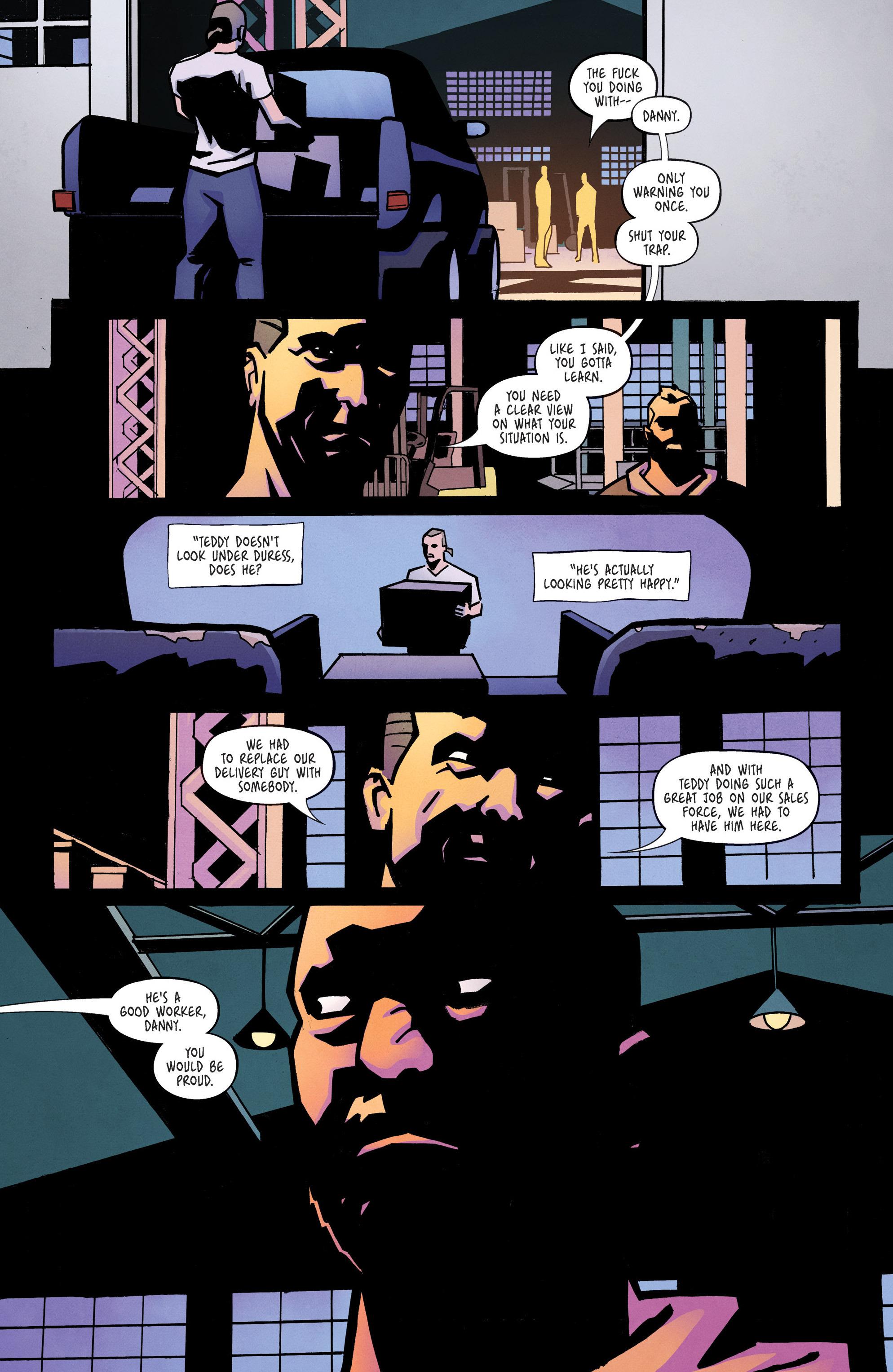 Read online Ringside comic -  Issue #10 - 12