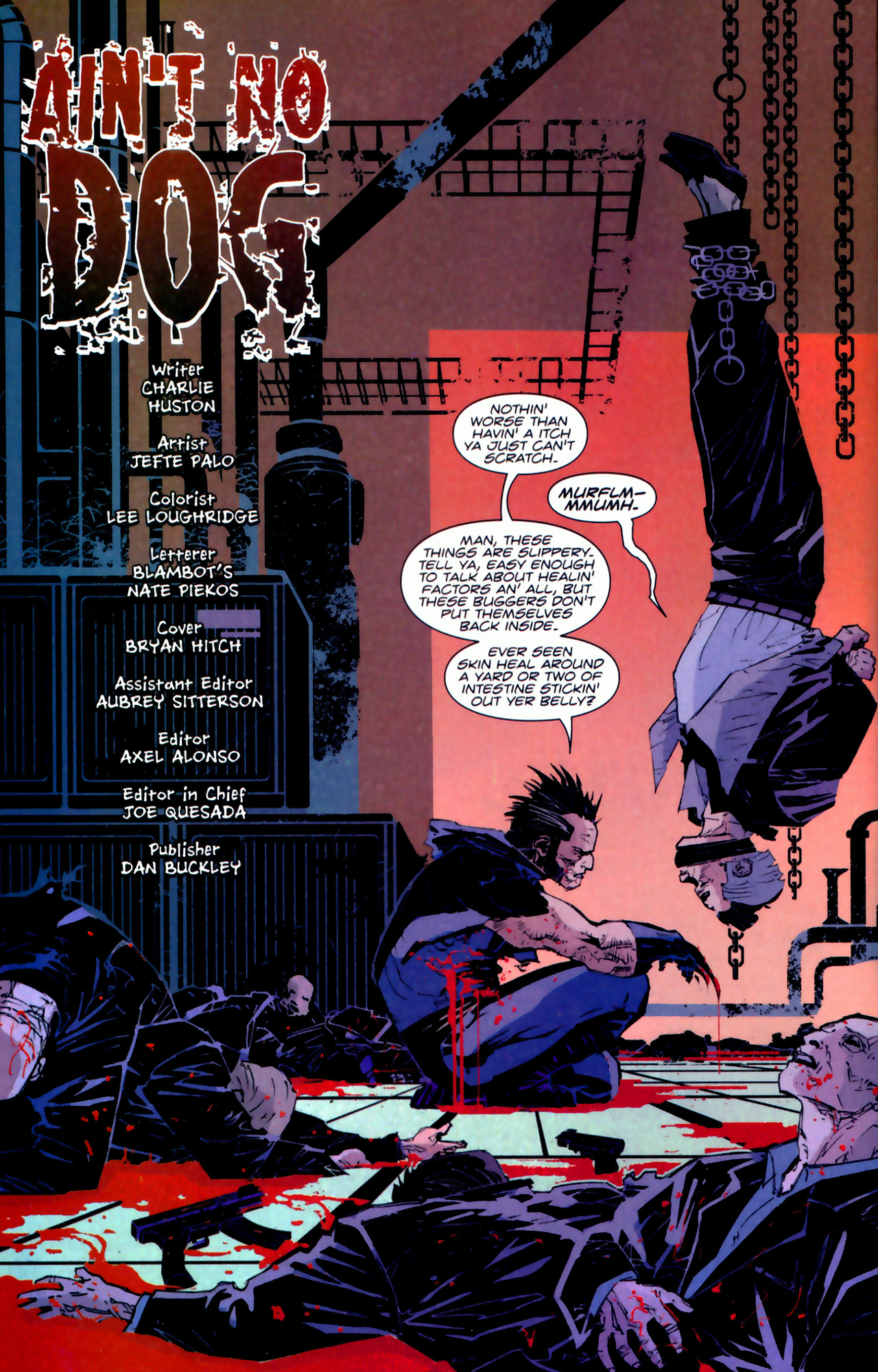 Read online X-Force Special: Ain't No Dog comic -  Issue # Full - 3