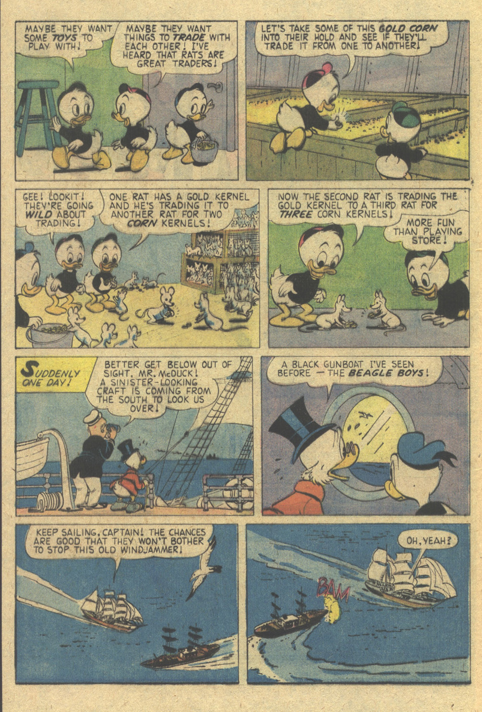 Read online Uncle Scrooge (1953) comic -  Issue #137 - 16