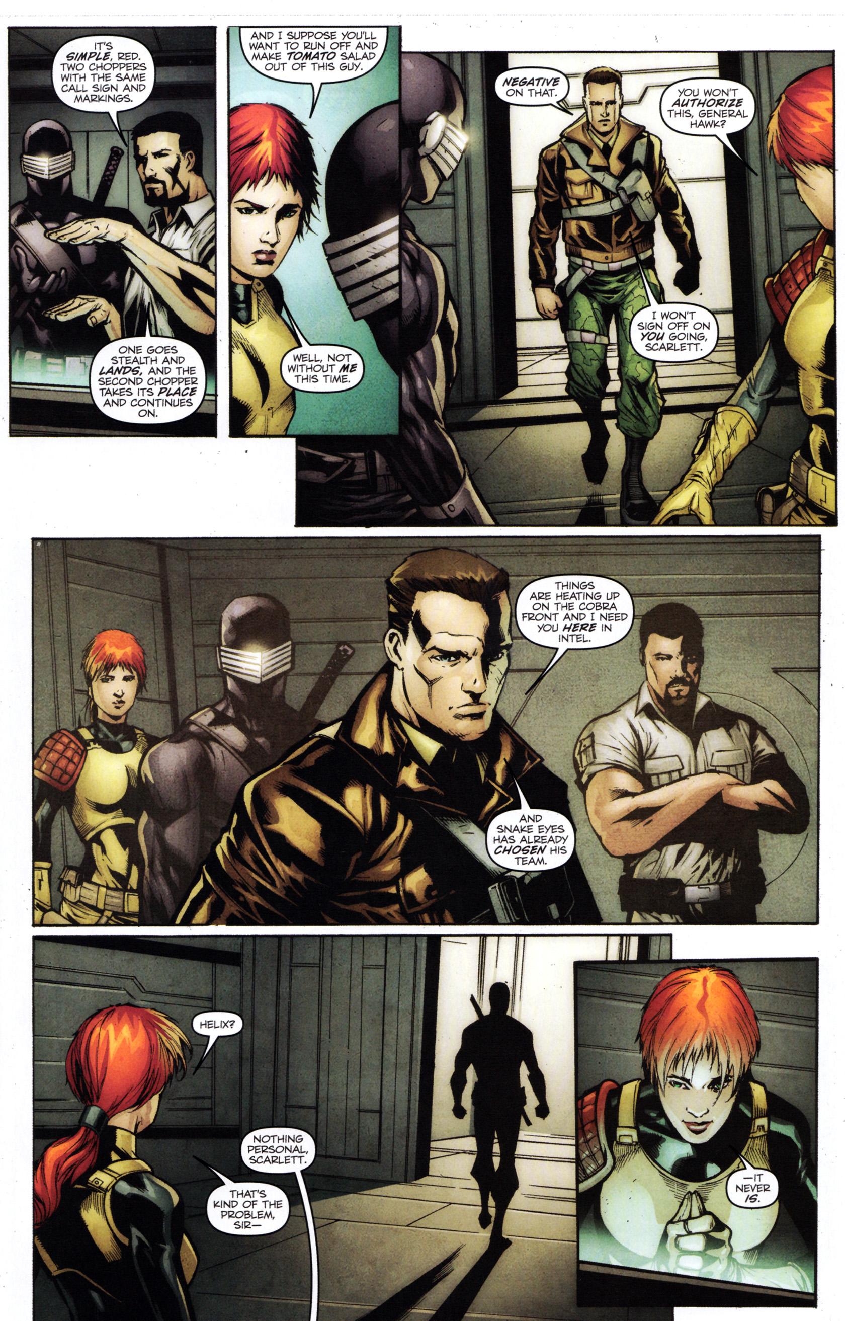 Read online G.I. Joe: Snake Eyes comic -  Issue #1 - 16