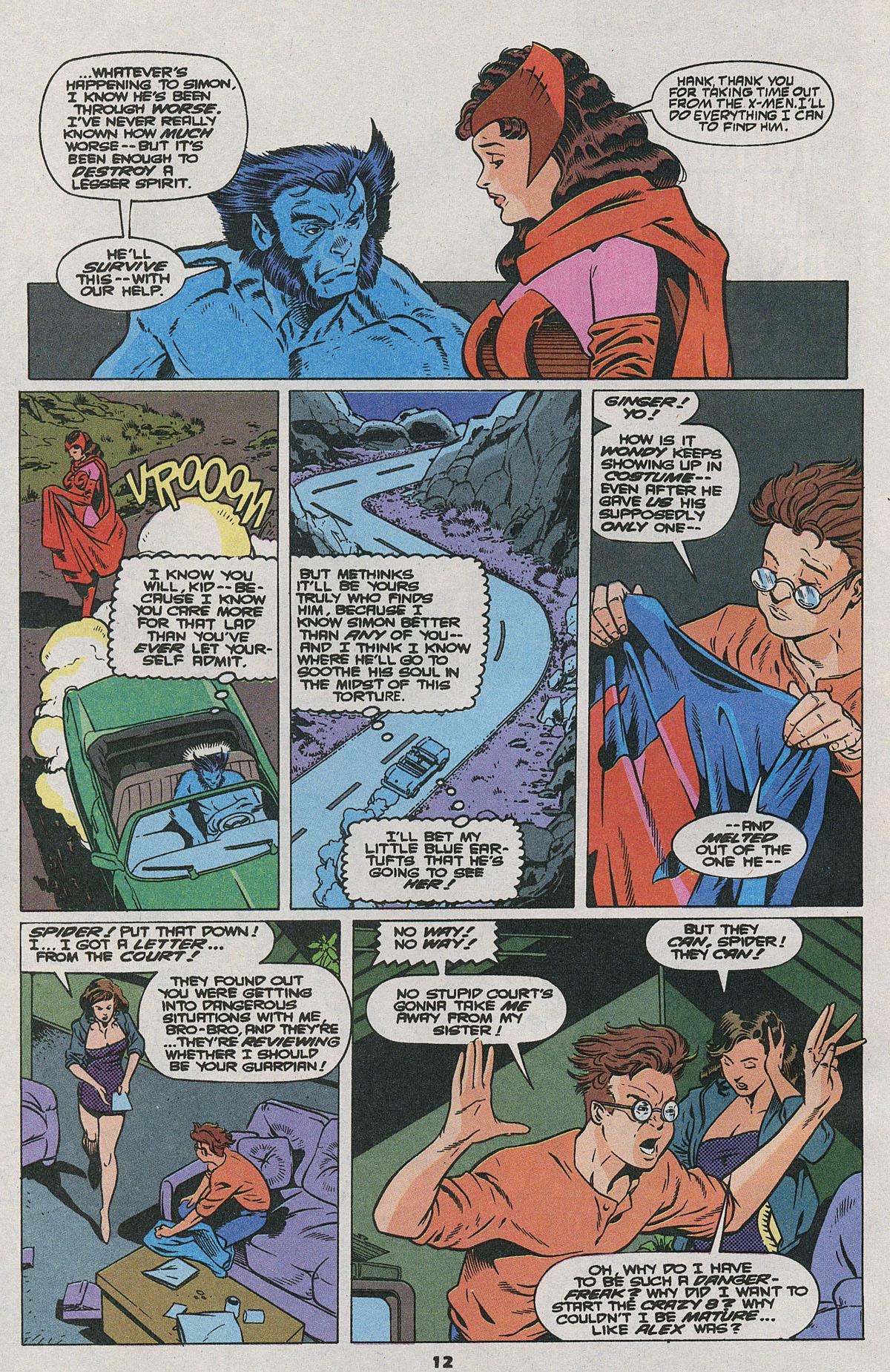 Read online Wonder Man (1991) comic -  Issue #24 - 10