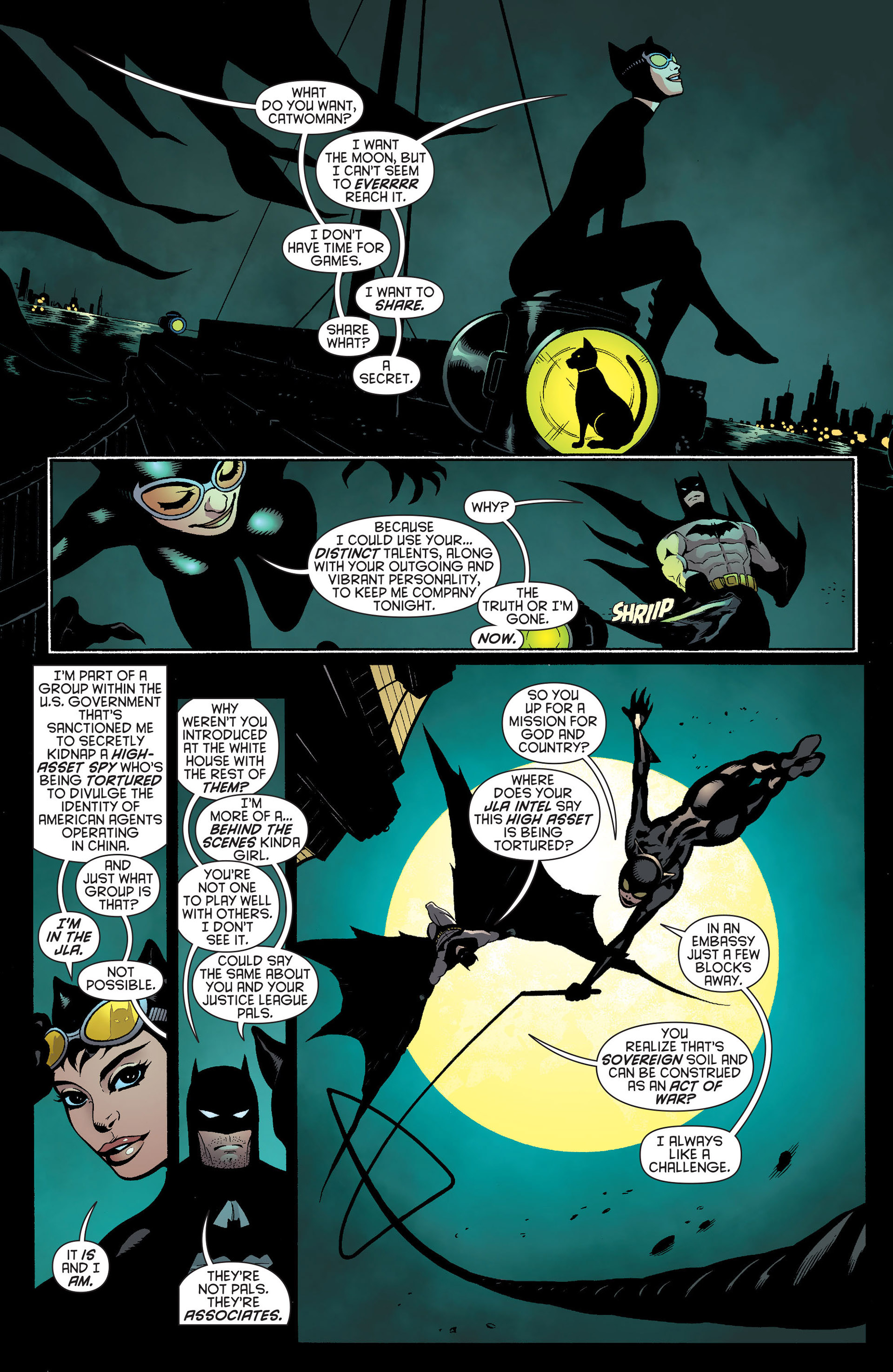 Read online Batman and Robin (2011) comic -  Issue #22 - Batman and Catwoman - 10