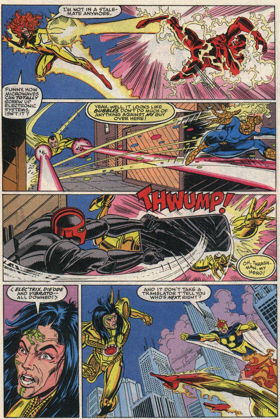The New Warriors Issue #20 #24 - English 16
