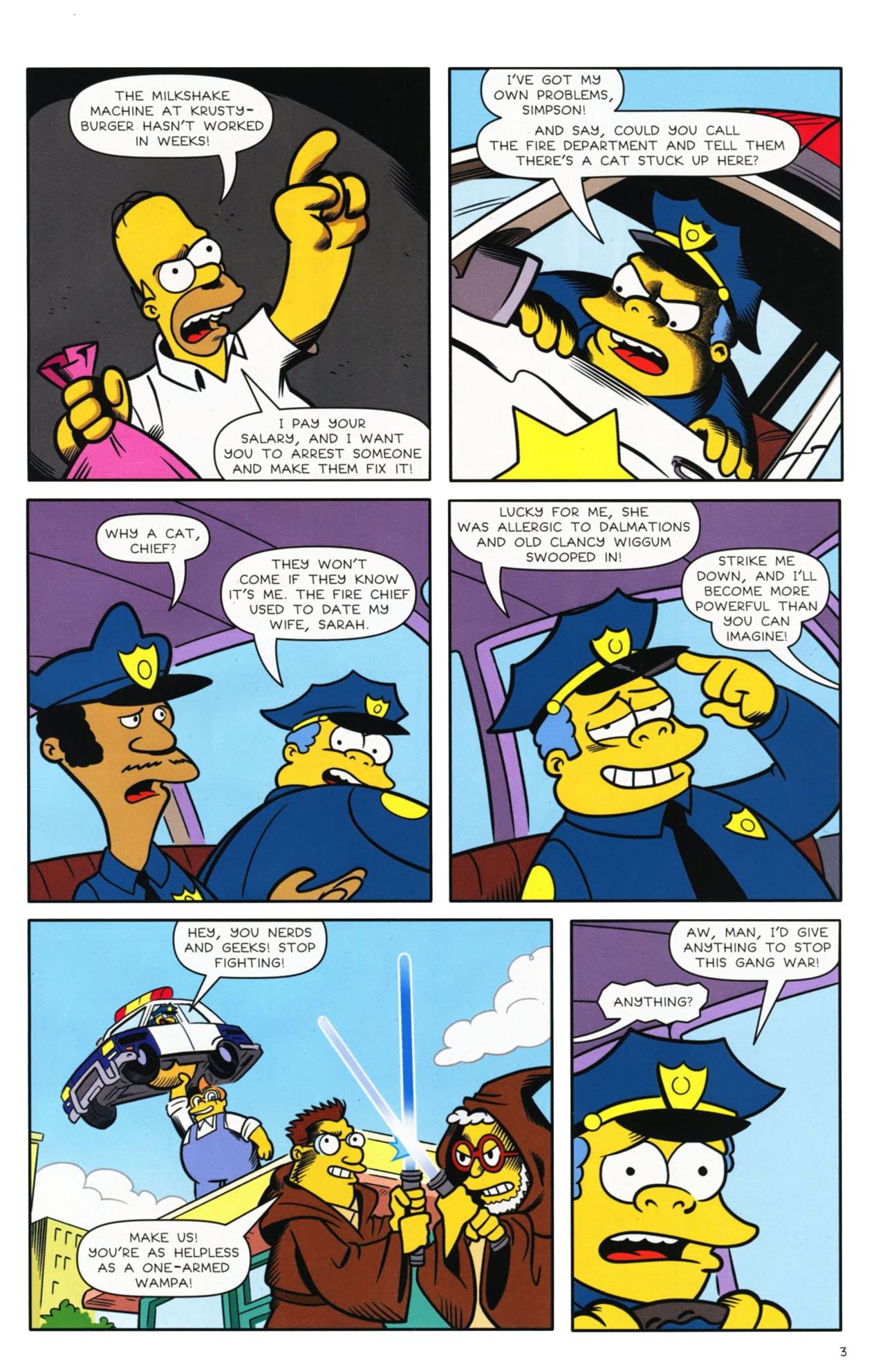 Read online Bongo Comics presents Comic Book Guy: The Comic Book comic -  Issue #3 - 4