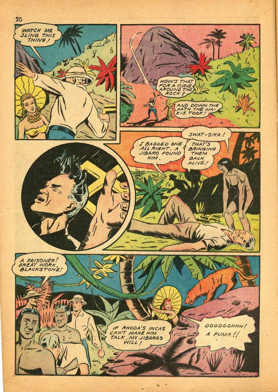 Read online Super-Magician Comics comic -  Issue #9 - 20
