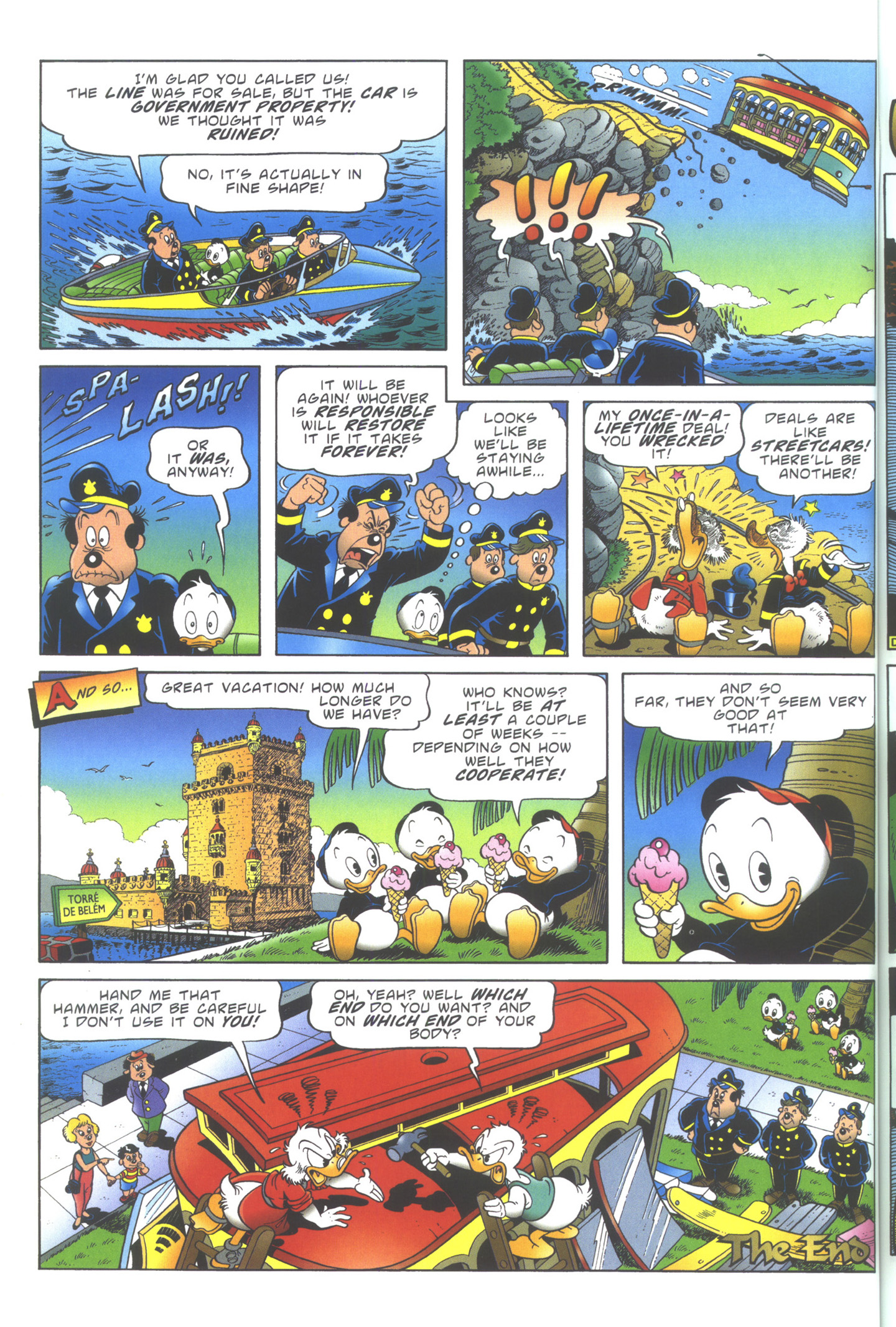 Read online Uncle Scrooge (1953) comic -  Issue #354 - 52