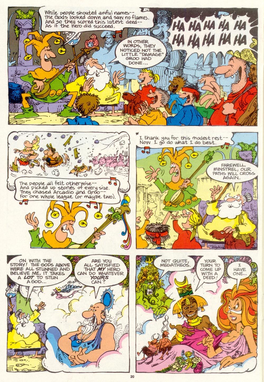 Read online Sergio Aragonés Groo the Wanderer comic -  Issue #97 - 21