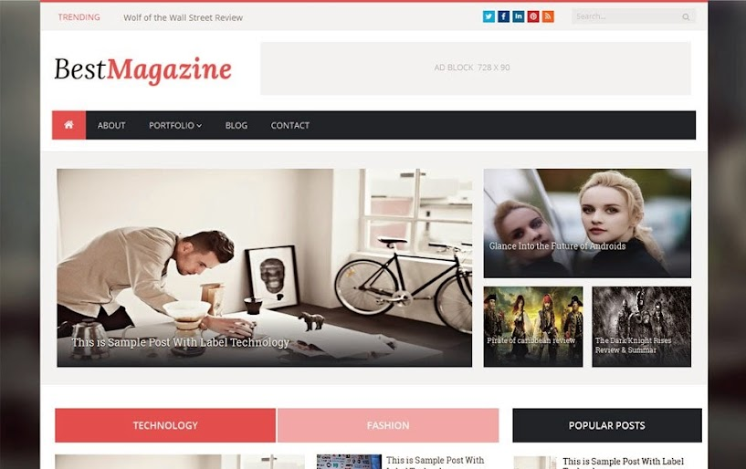 Best Free Responsive Blogger Templates for 2019 : eAskme