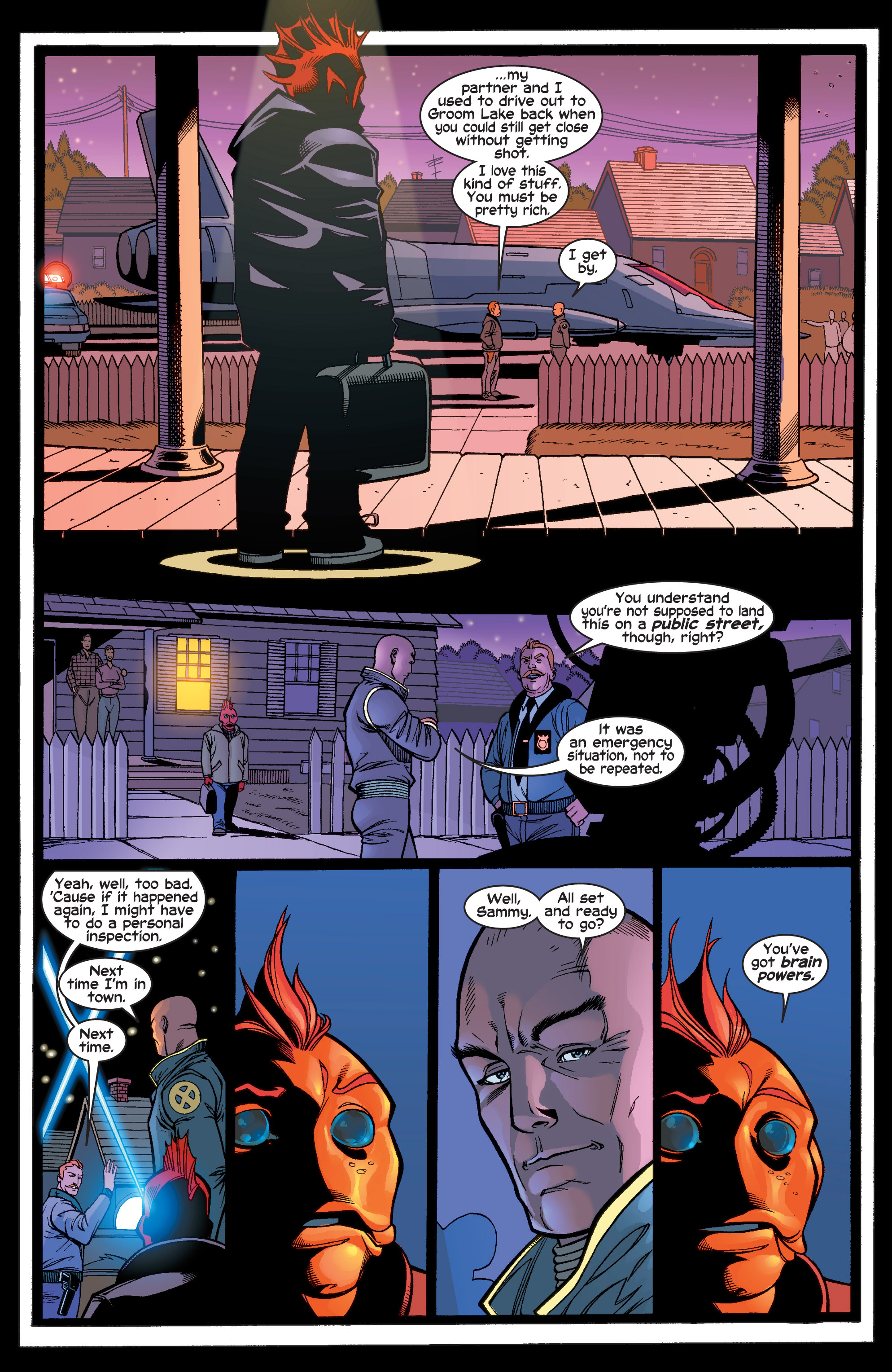 Read online Uncanny X-Men (1963) comic -  Issue #410 - 15