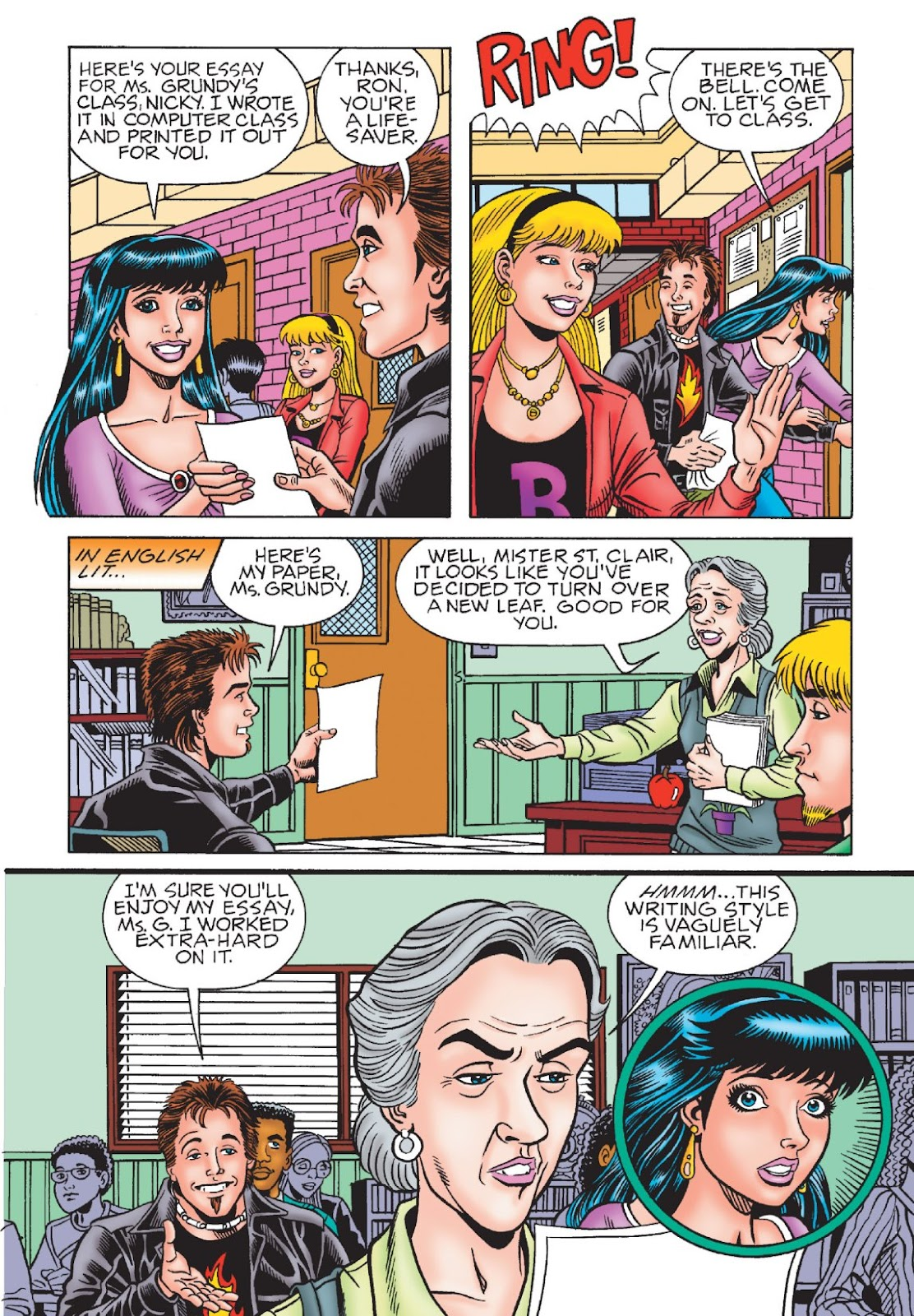 Read online Archie's New Look Series comic -  Issue #1 - 101