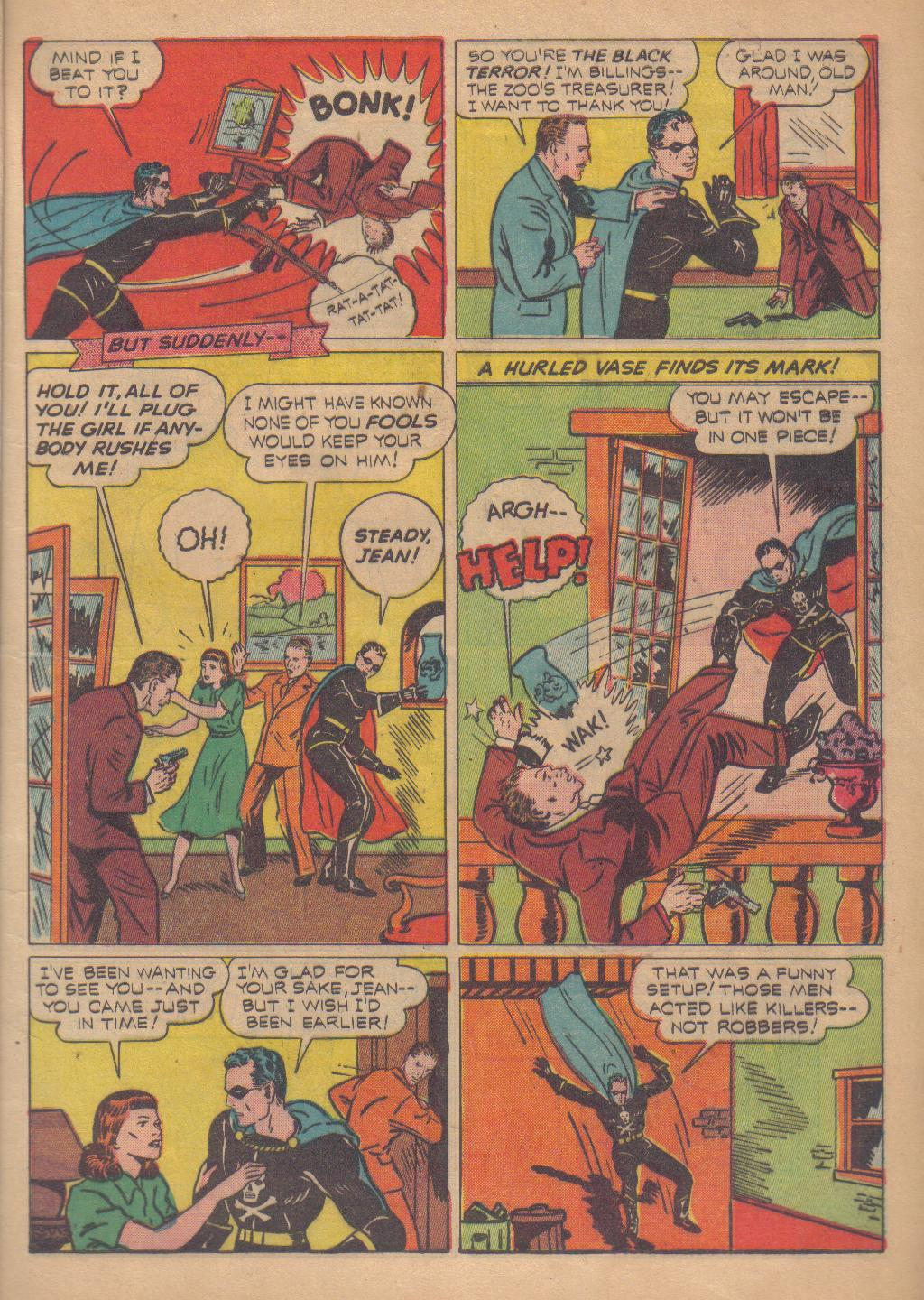 Exciting Comics (1940) issue 13 - Page 7