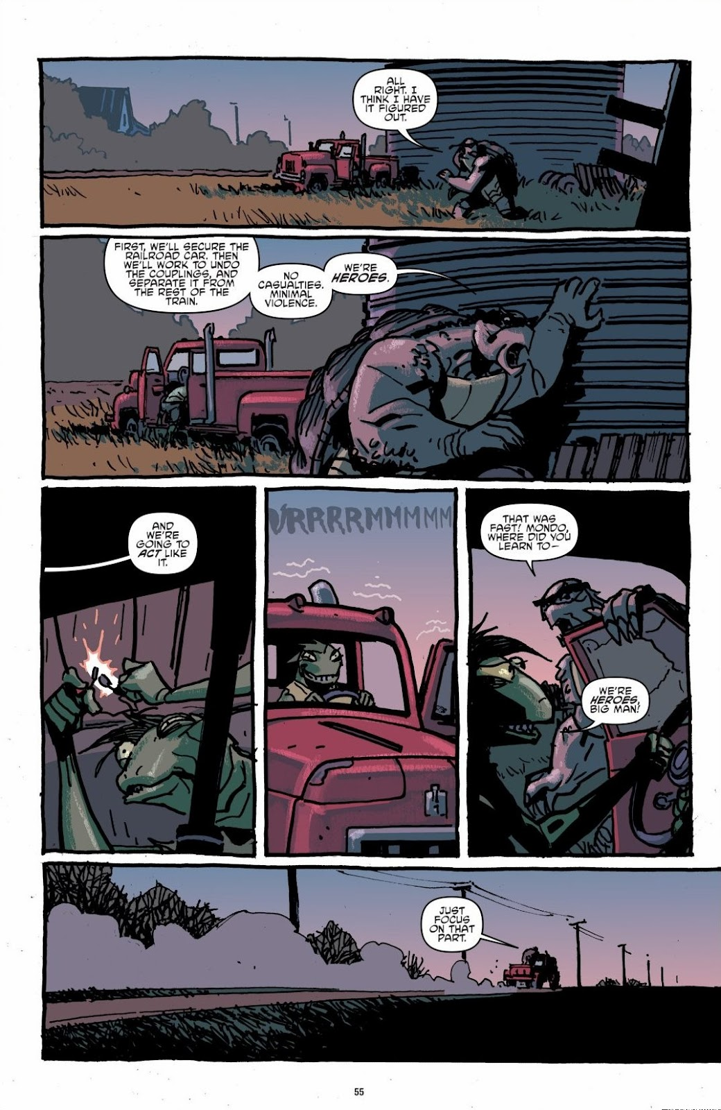 Read online Teenage Mutant Ninja Turtles: The IDW Collection comic -  Issue # TPB 6 (Part 1) - 54