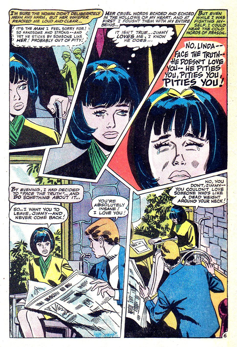 Read online Secret Hearts comic -  Issue #131 - 8