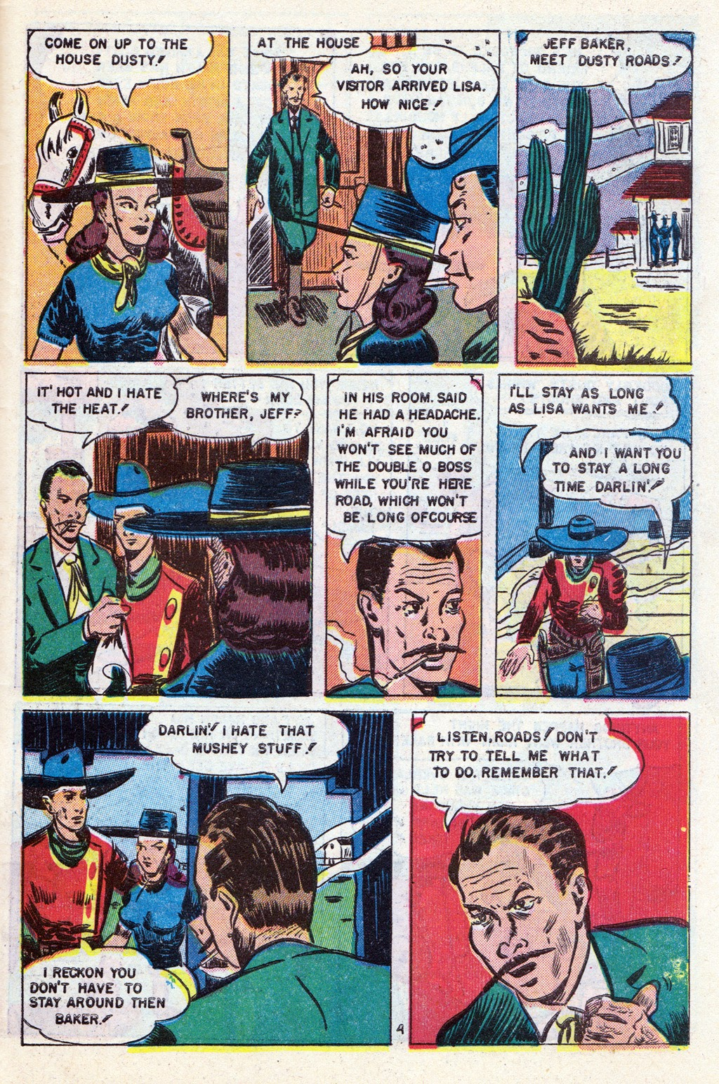 Cowboy Western Comics (1948) issue 18 - Page 27
