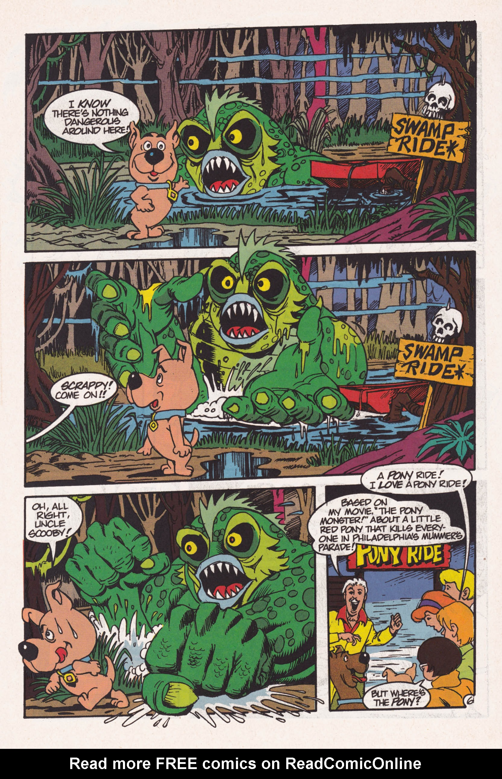 Read online Scooby-Doo (1995) comic -  Issue #1 - 7