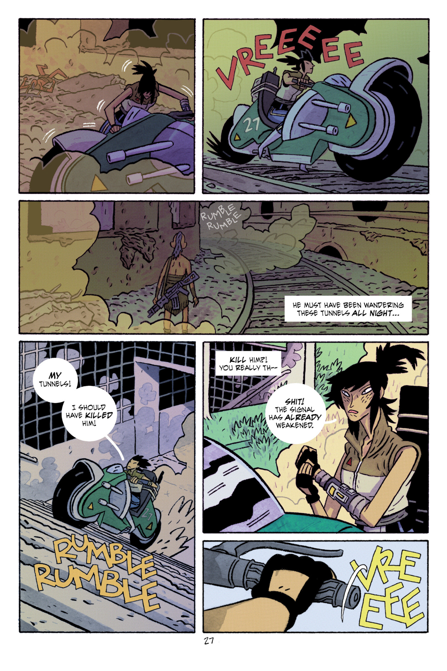Read online ApocalyptiGirl: An Aria for the End Times comic -  Issue #ApocalyptiGirl: An Aria for the End Times Full - 35