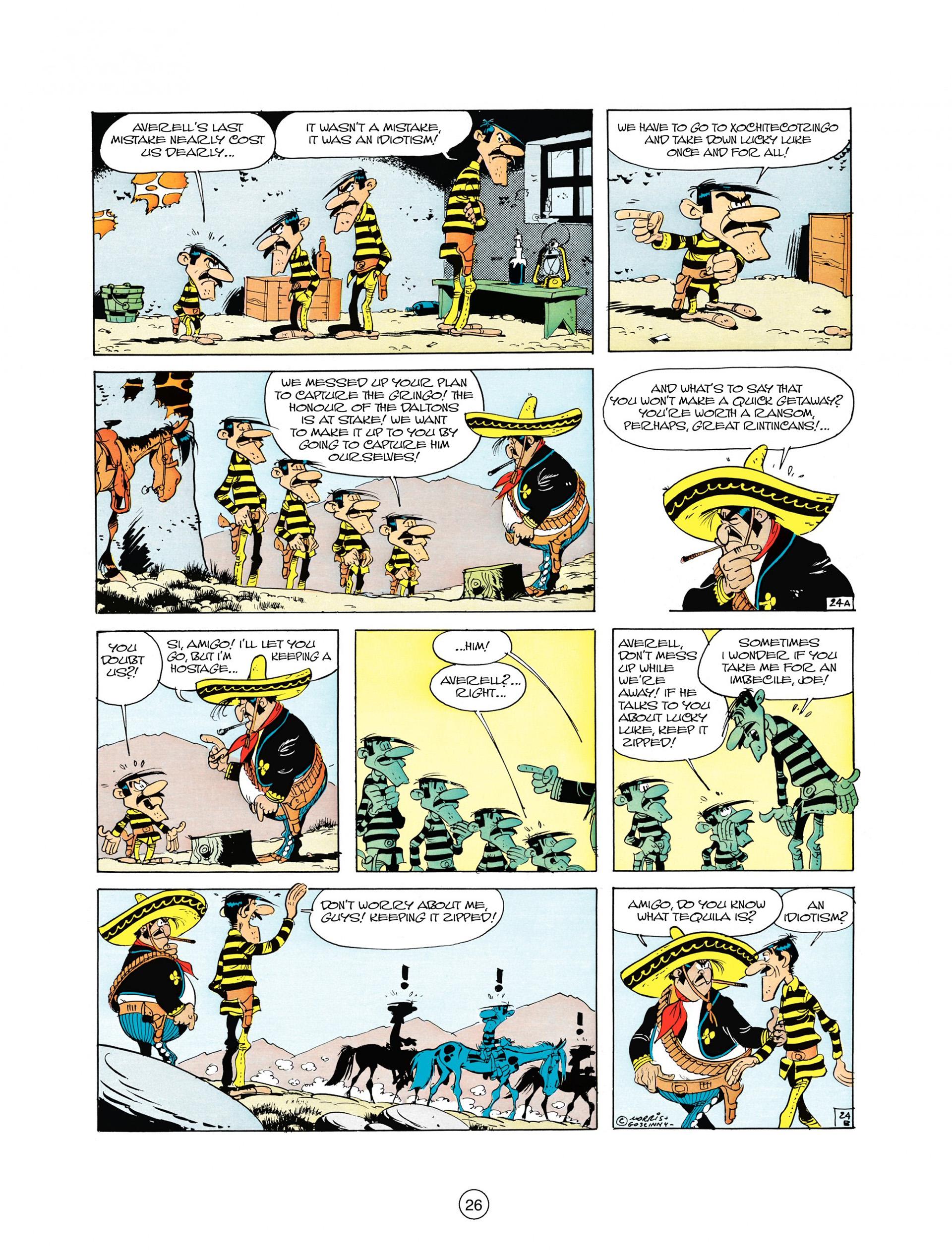 Read online A Lucky Luke Adventure comic -  Issue #10 - 26