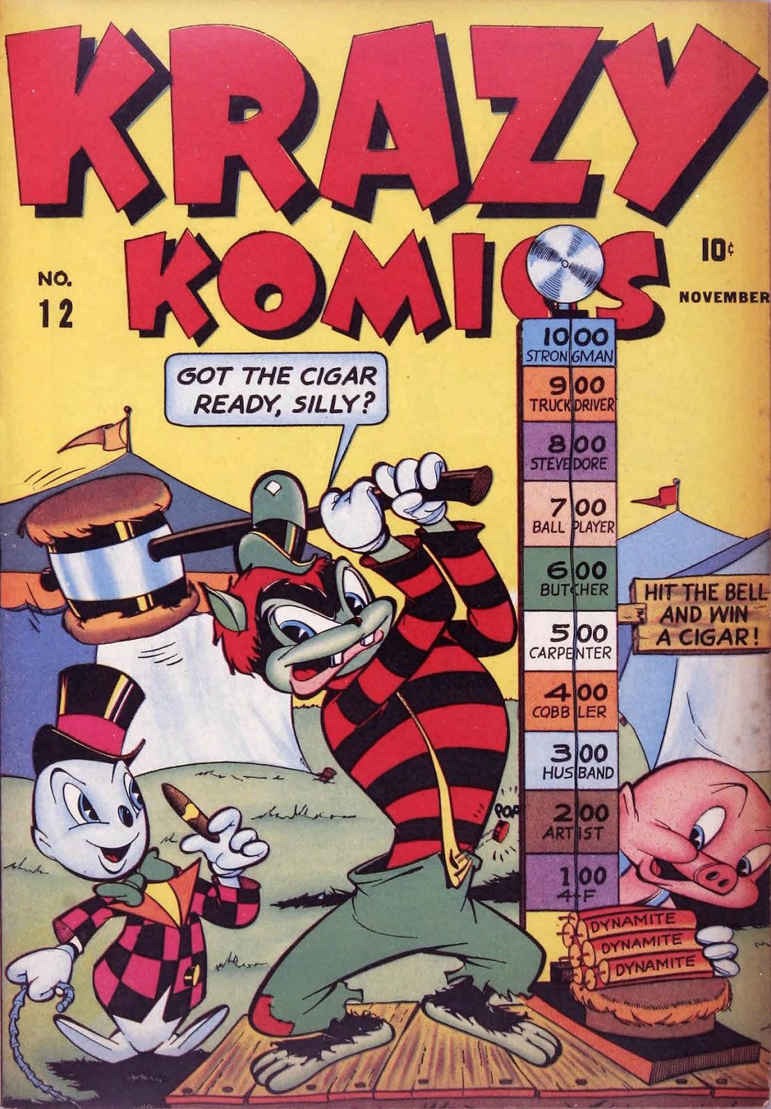 Krazy Komics issue 12 - Page 1