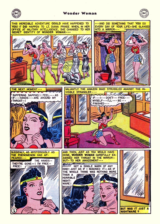 Read online Wonder Woman (1942) comic -  Issue #59 - 4