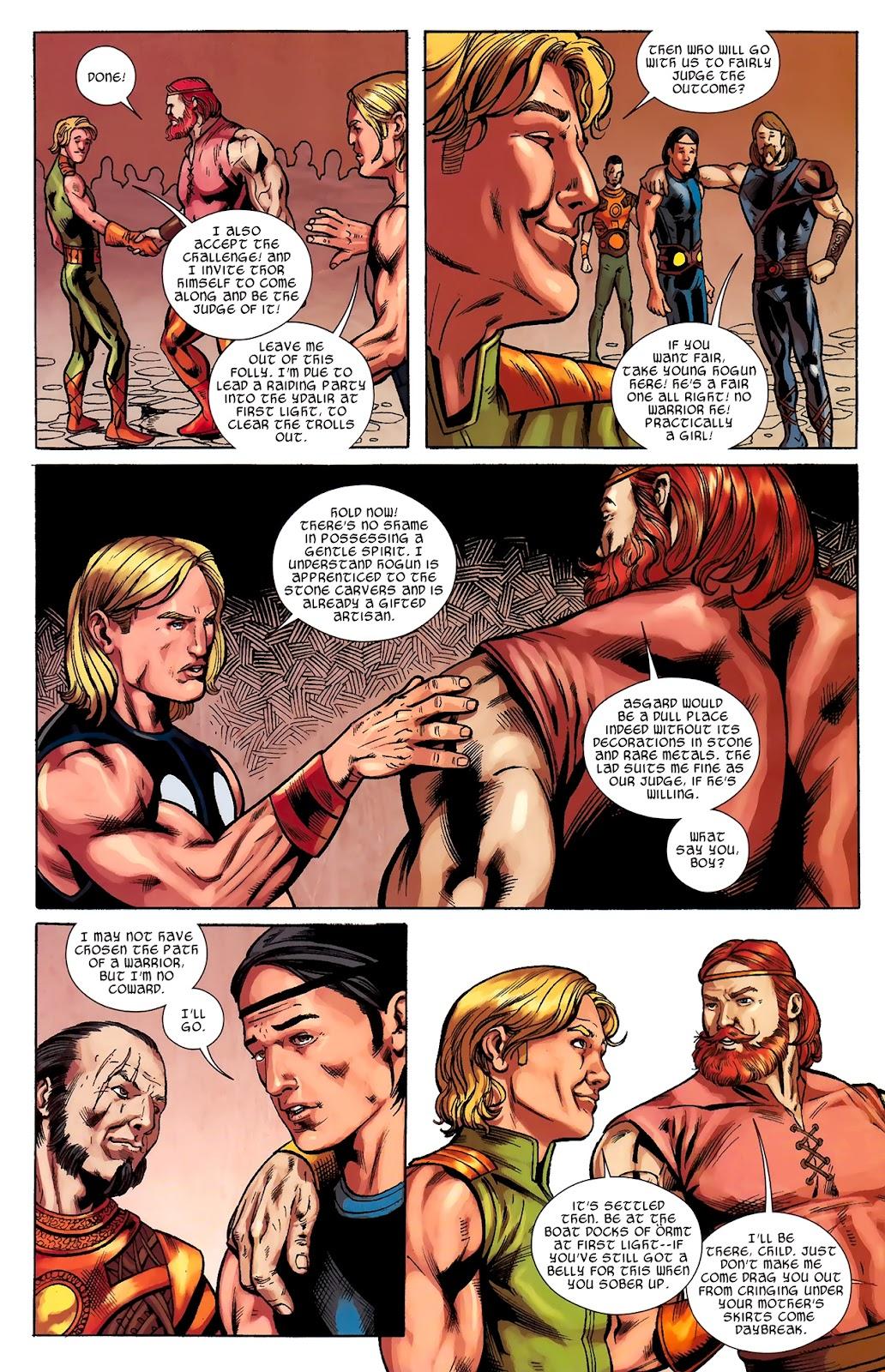 Warriors Three Issue #2 #2 - English 11