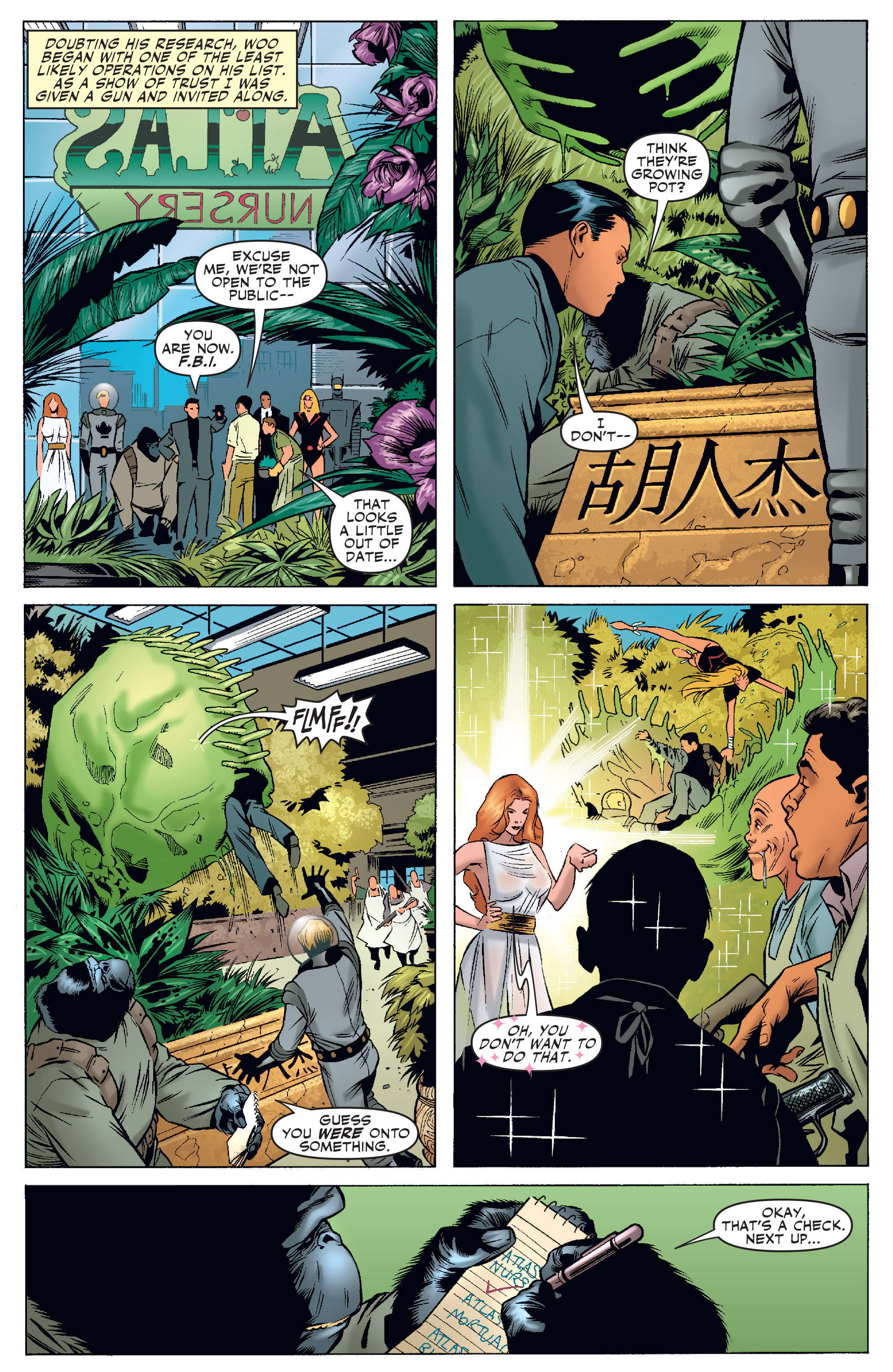 Read online Agents Of Atlas (2006) comic -  Issue #4 - 14