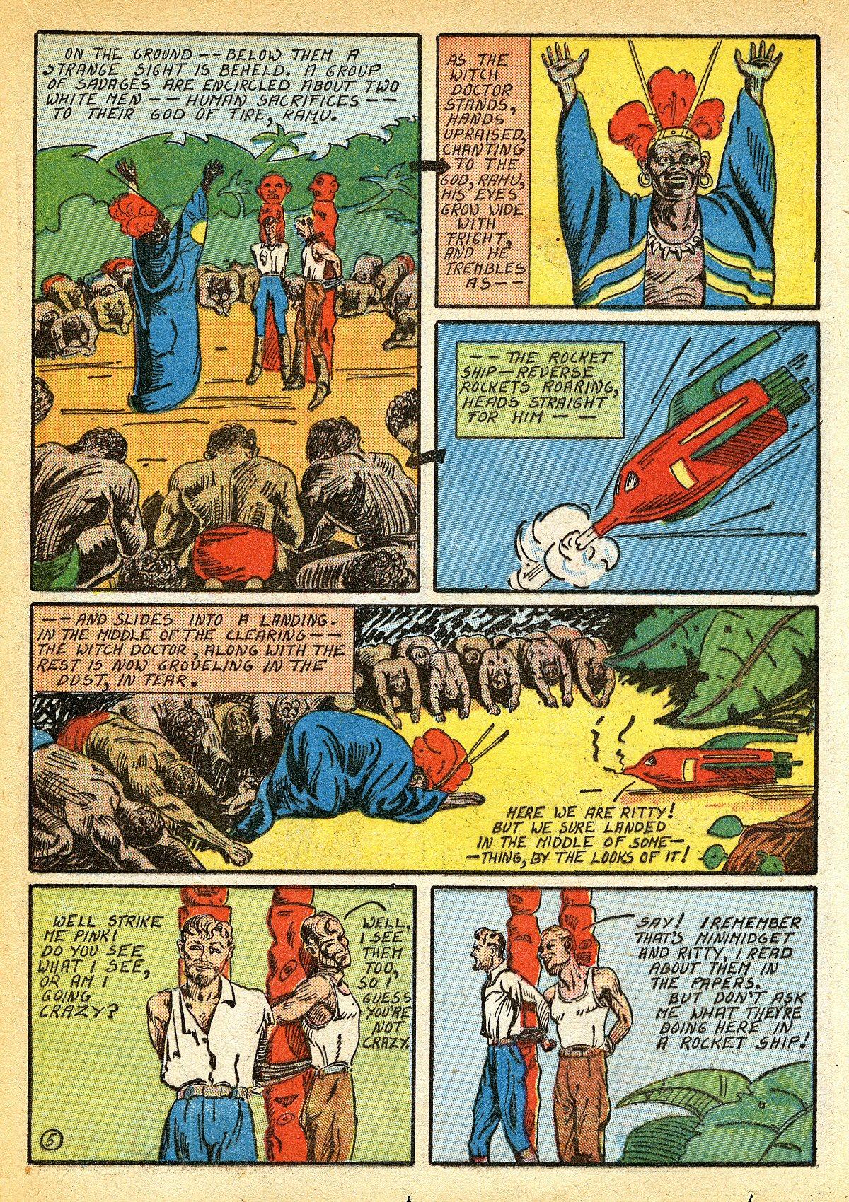 Read online Amazing Man Comics comic -  Issue #10 - 42