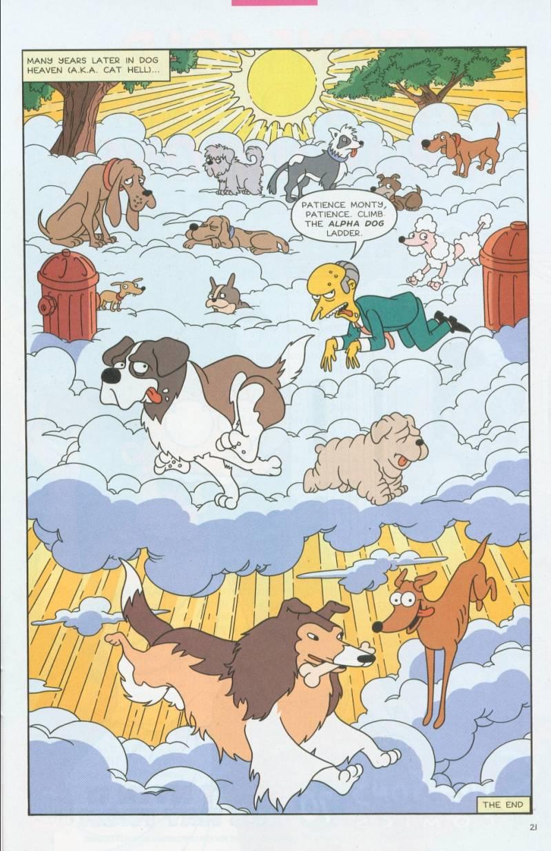 Read online Simpsons Comics comic -  Issue #69 - 20