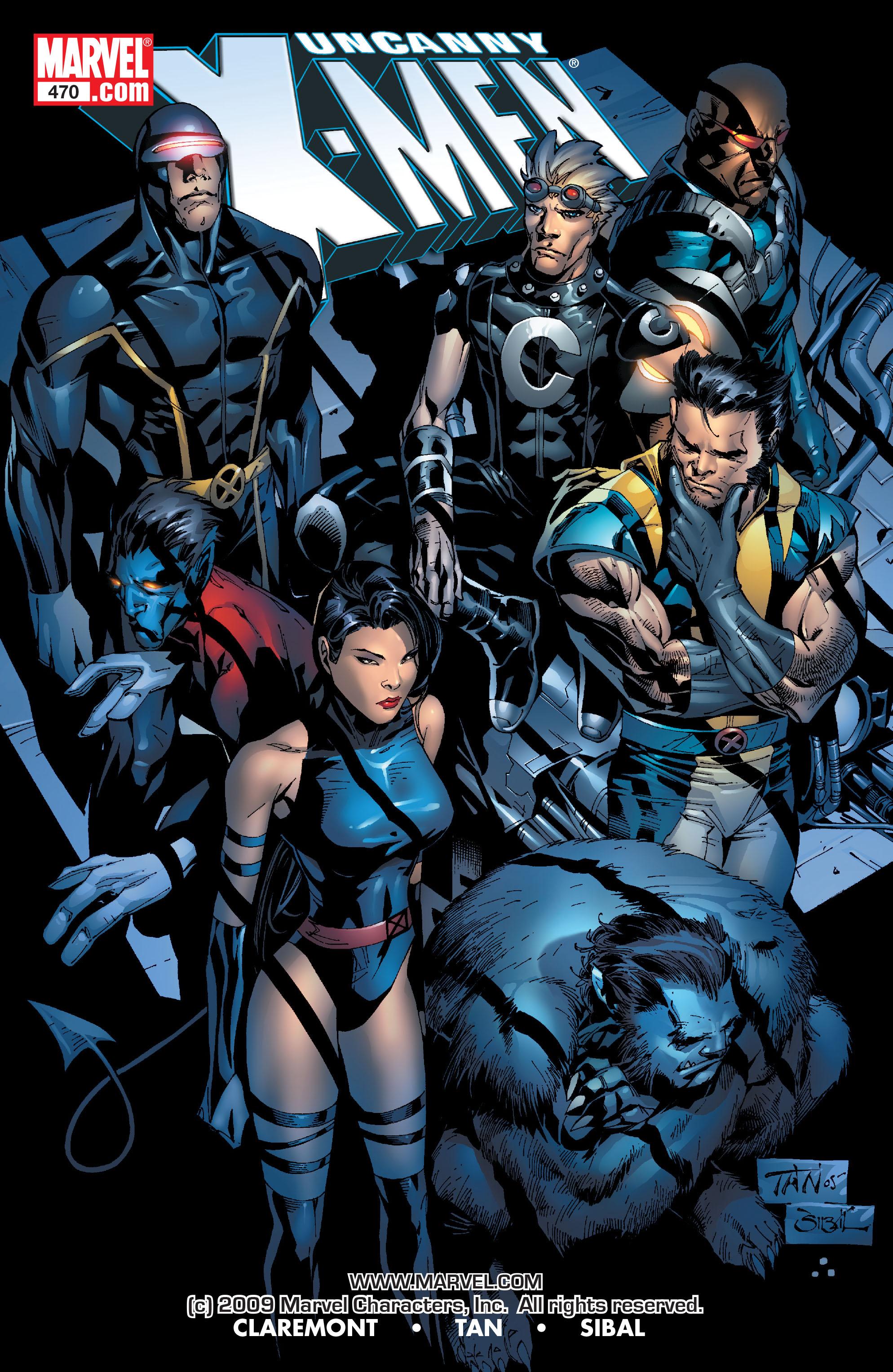 Uncanny X-Men (1963) 470 Page 1