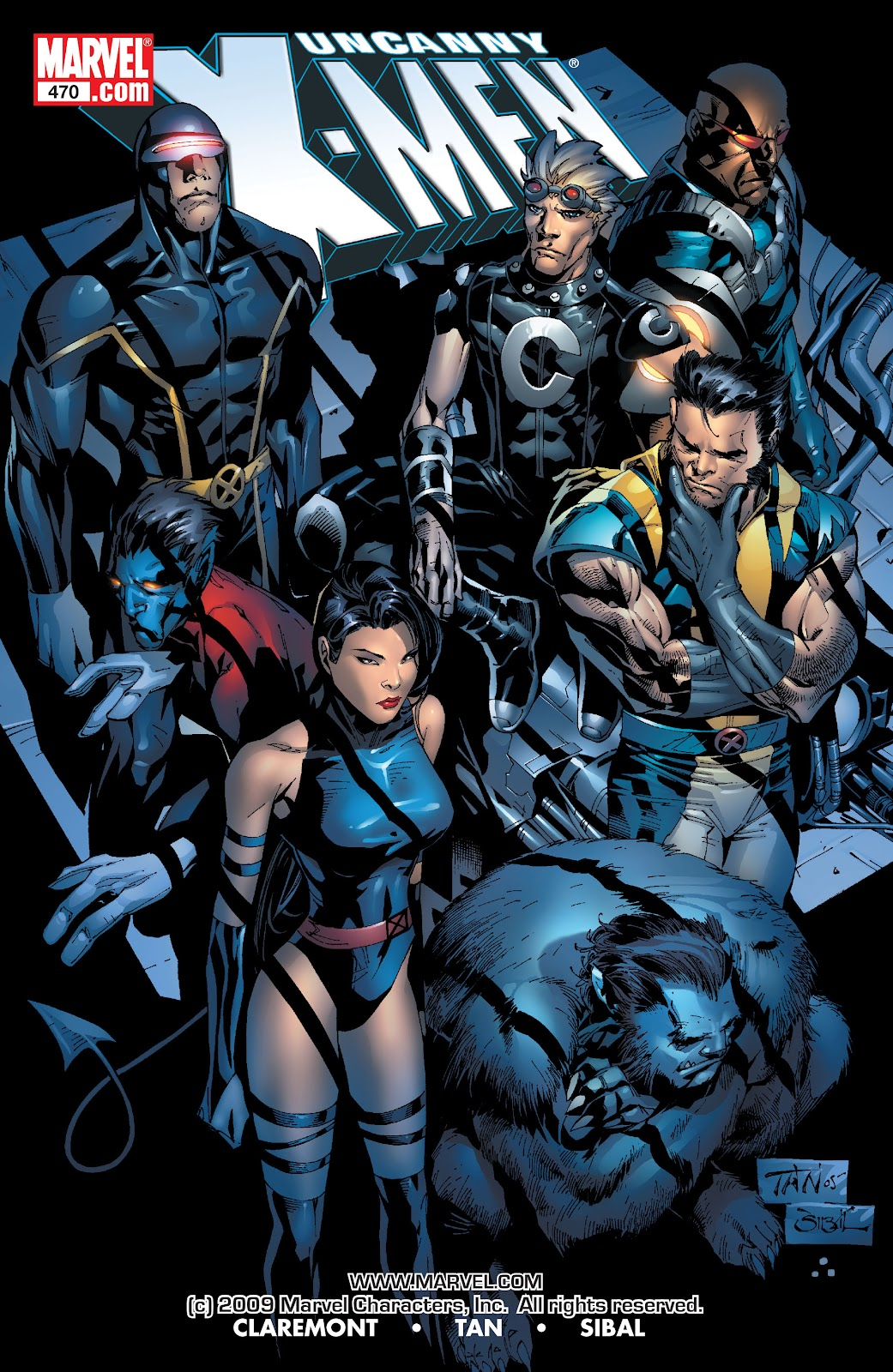 Uncanny X-Men (1963) issue 470 - Page 1