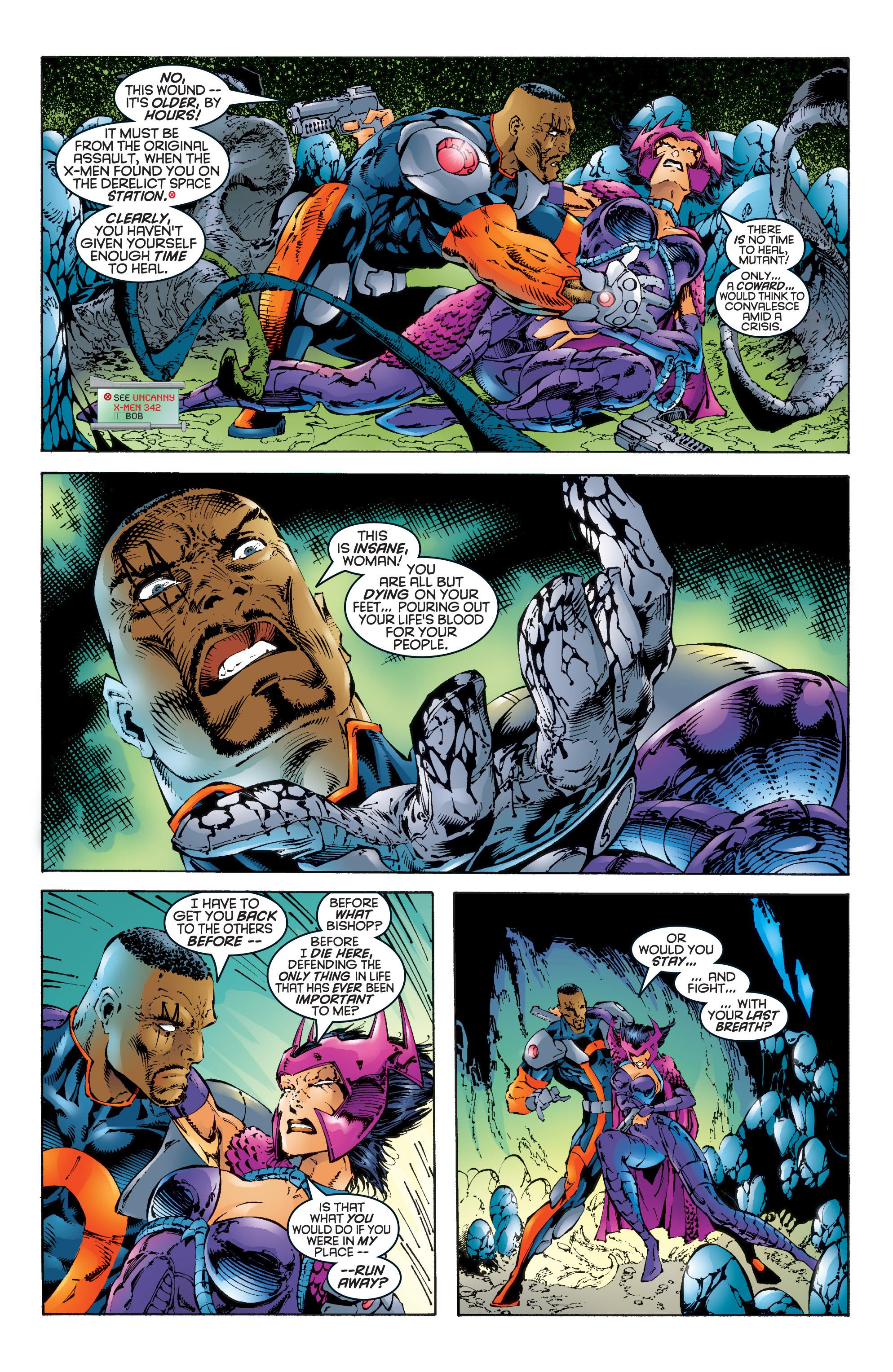 Read online Uncanny X-Men (1963) comic -  Issue #344 - 12