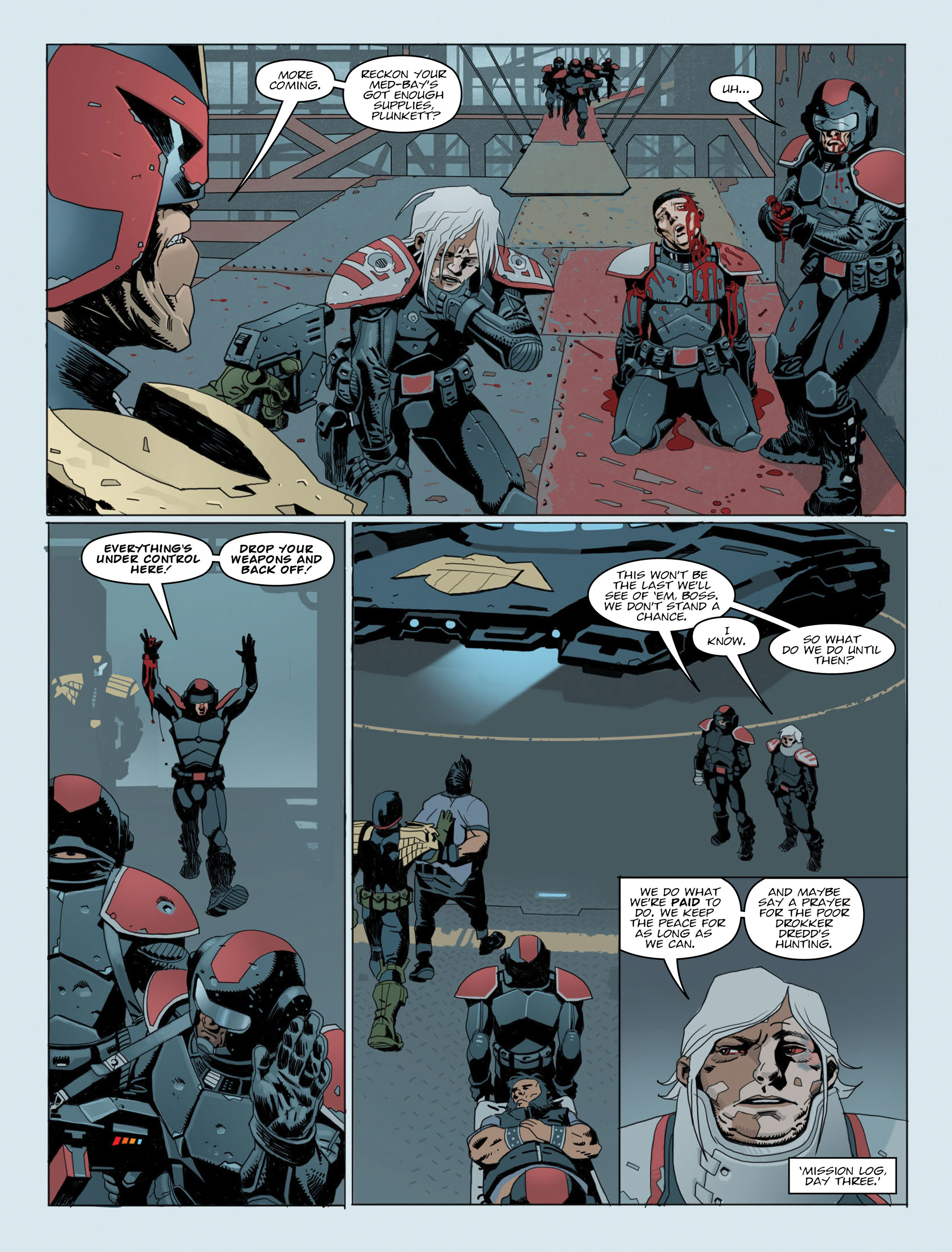 Read online 2000 AD comic -  Issue #2015 - 5