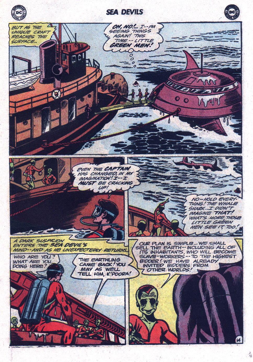 Read online Sea Devils comic -  Issue #17 - 19