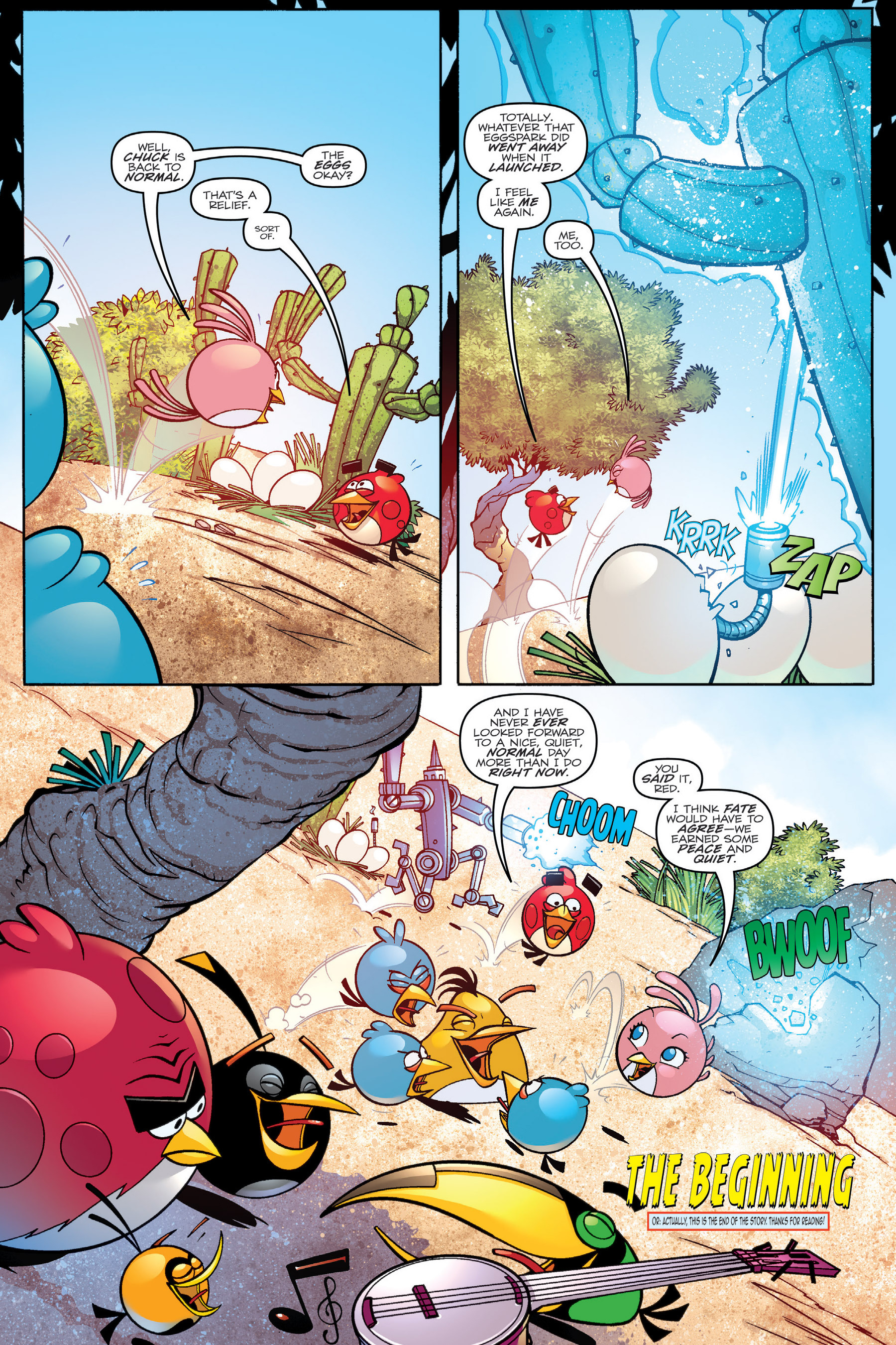Read online Angry Birds Transformers: Age of Eggstinction comic -  Issue # Full - 90
