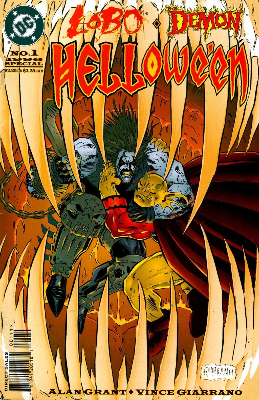 Read online Lobo/Demon: Hellowe'en comic -  Issue # Full - 1