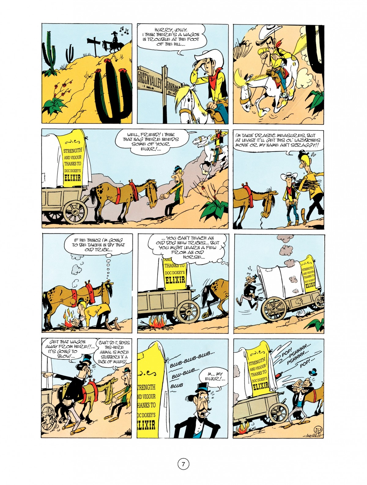 Read online A Lucky Luke Adventure comic -  Issue #38 - 7