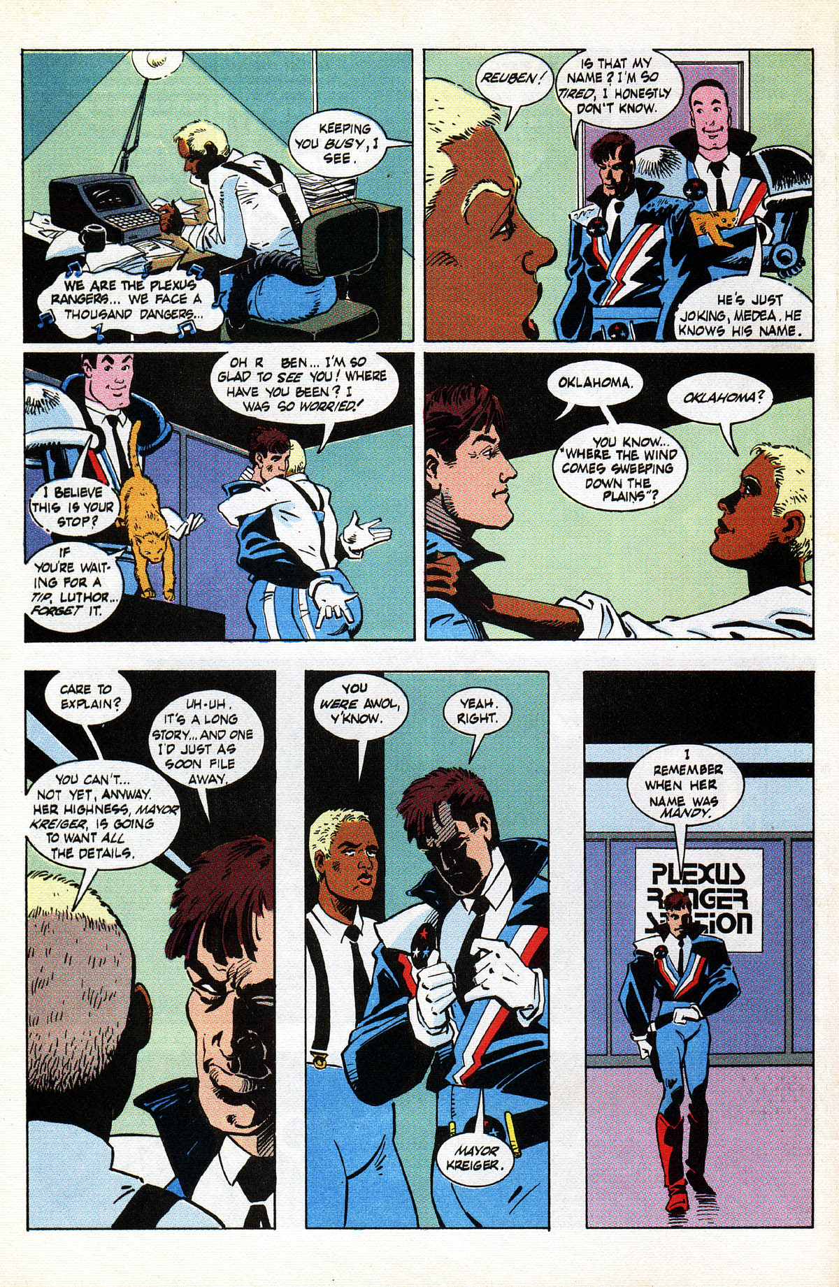 Read online American Flagg! comic -  Issue #38 - 4