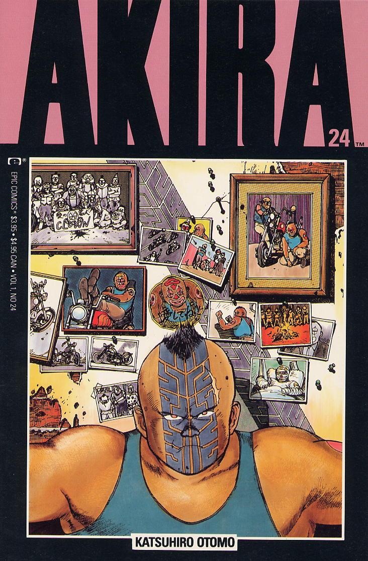 Read online Akira comic -  Issue #24 - 1