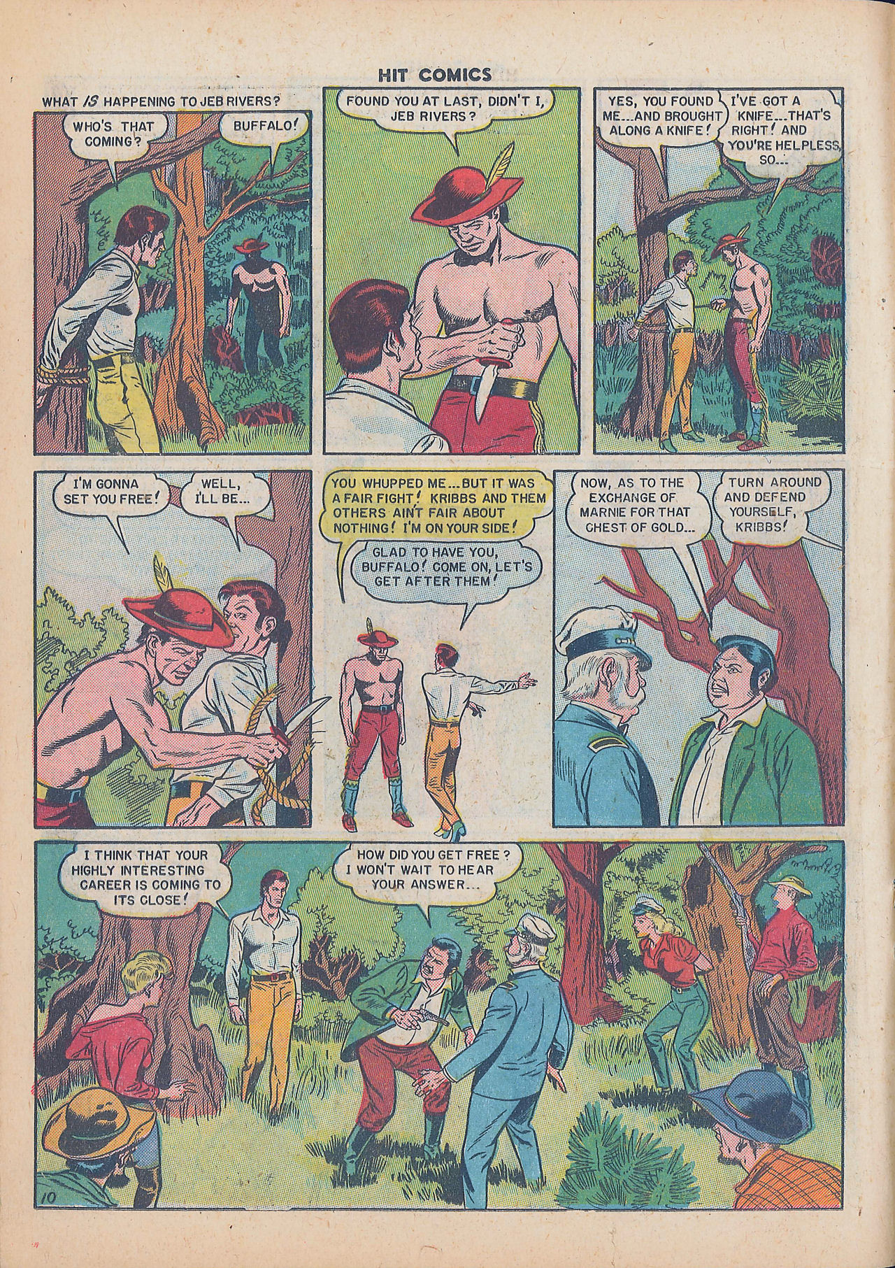 Read online Hit Comics comic -  Issue #64 - 12