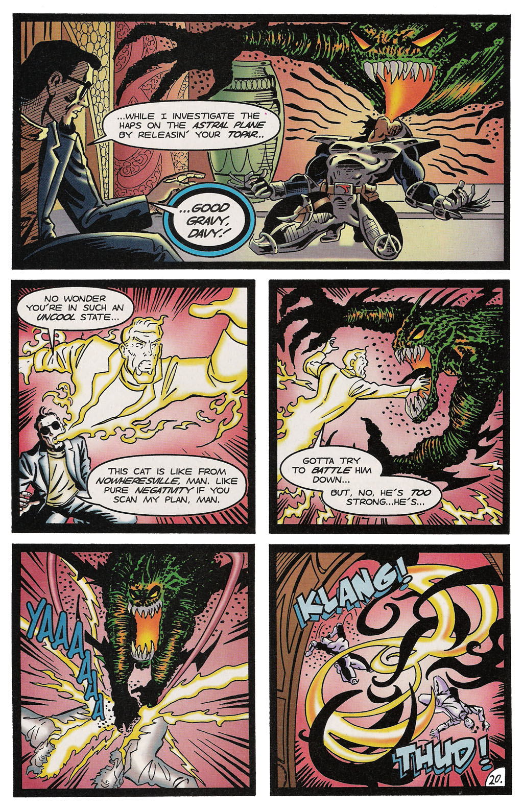 Read online ShadowHawk comic -  Issue #14 - 24