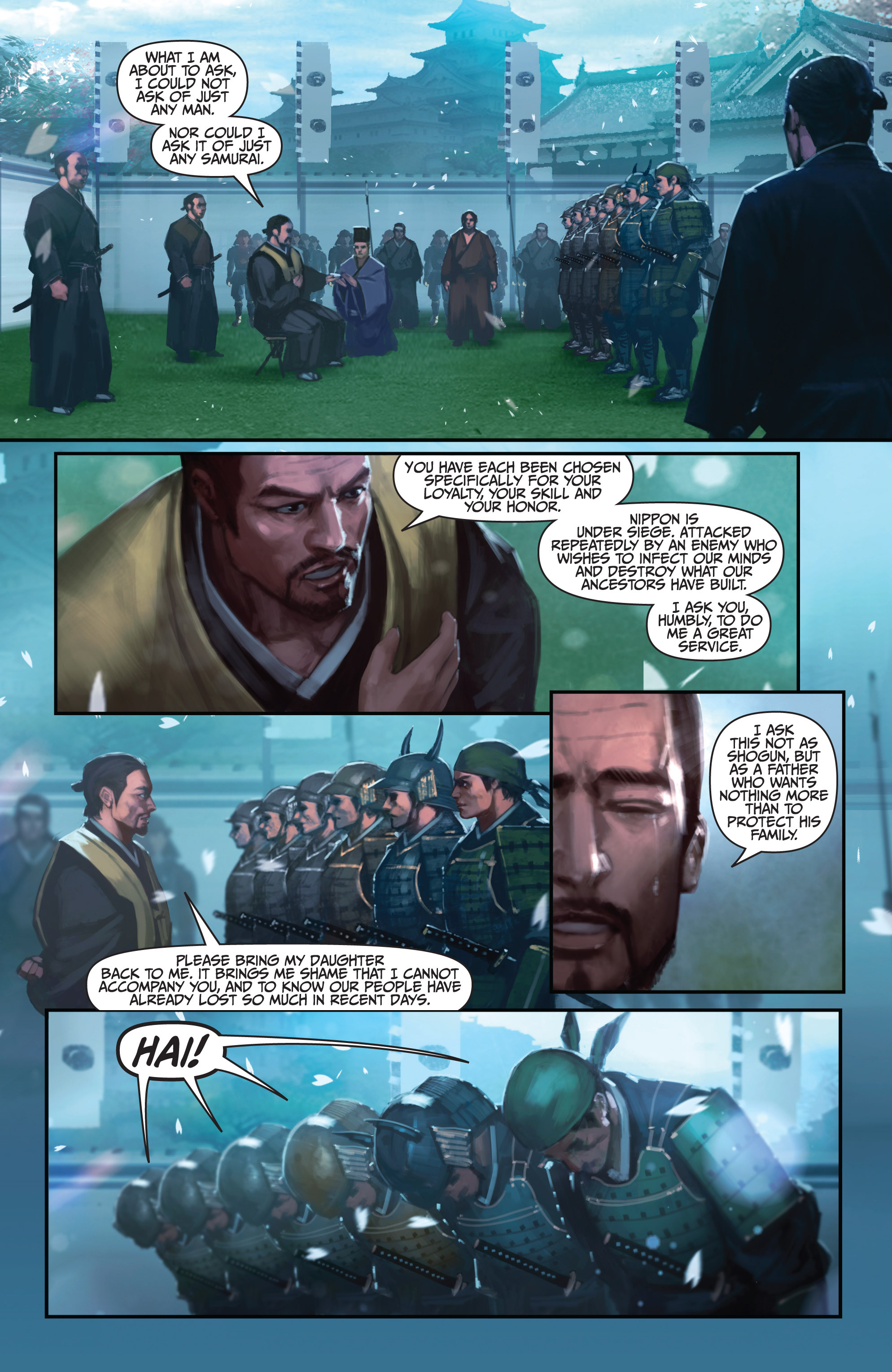 Read online Bushido: The Way of the Warrior comic -  Issue #4 - 10