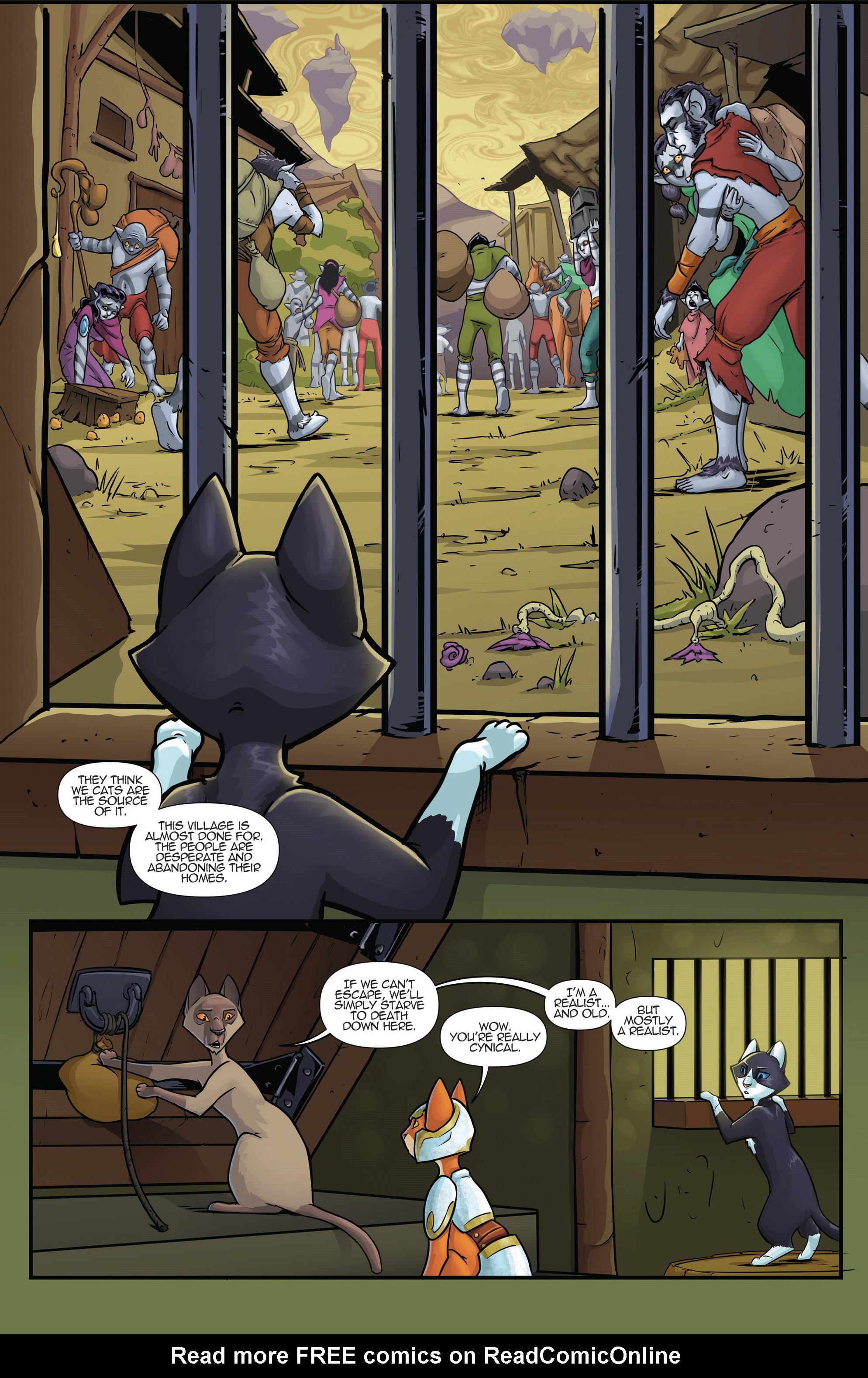Read online Hero Cats comic -  Issue #17 - 12